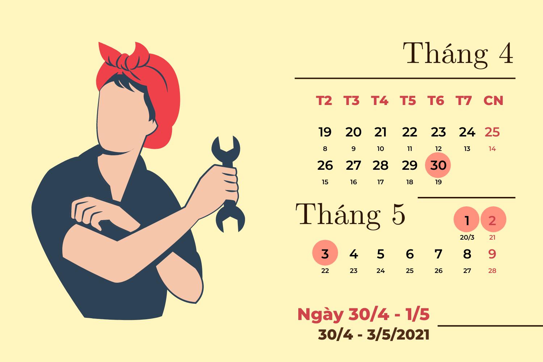 Chi tiết các ngày nghỉ lễ trong năm 2021  - Ảnh 4.