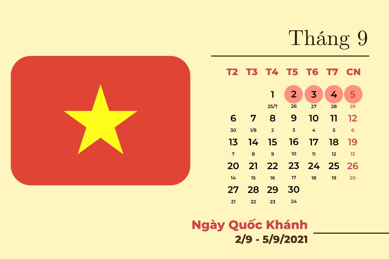 Chi tiết các ngày nghỉ lễ trong năm 2021  - Ảnh 5.