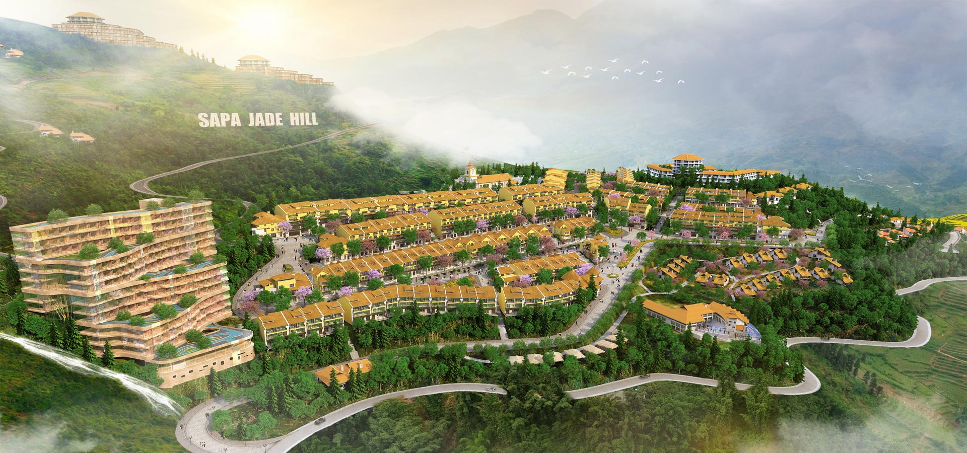 Những dự án bất động sản nghỉ dưỡng lớn đang hiện diện ở Sa Pa - Ảnh 6.