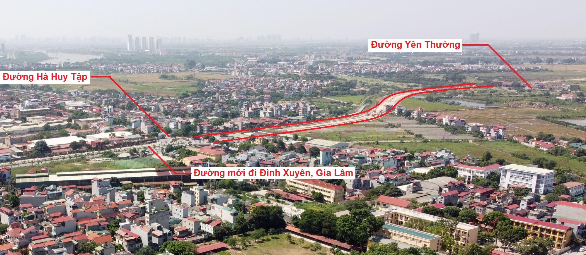 đường sẽ mở theo quy hoạch ở xã Yên Viên, Gia Lâm, Hà Nội - Ảnh 3.