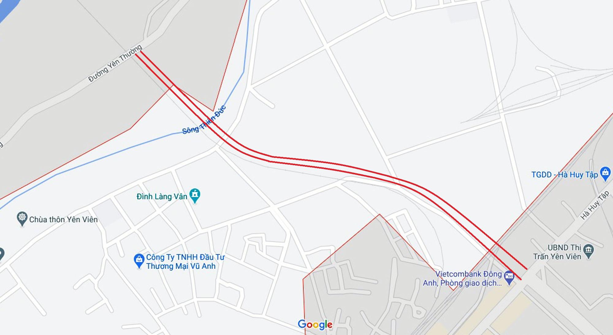 đường sẽ mở theo quy hoạch ở xã Yên Viên, Gia Lâm, Hà Nội - Ảnh 2.