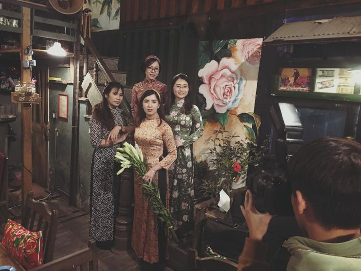Dịp Tết Dương lịch, ghé thăm những quán cà phê mang phong cách cổ xưa tại Hà Nội  - Ảnh 2.