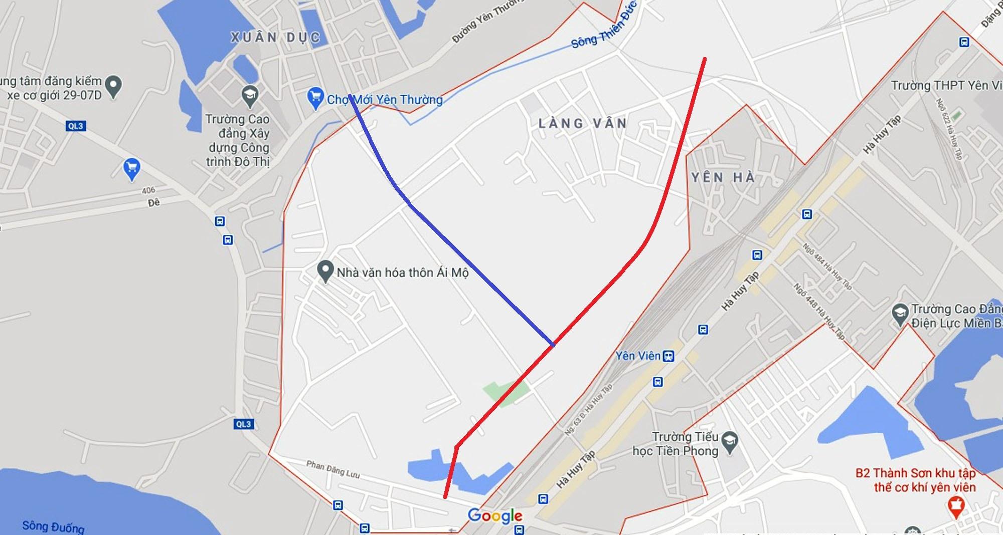 đường sẽ mở theo quy hoạch ở xã Yên Viên, Gia Lâm, Hà Nội - Ảnh 9.