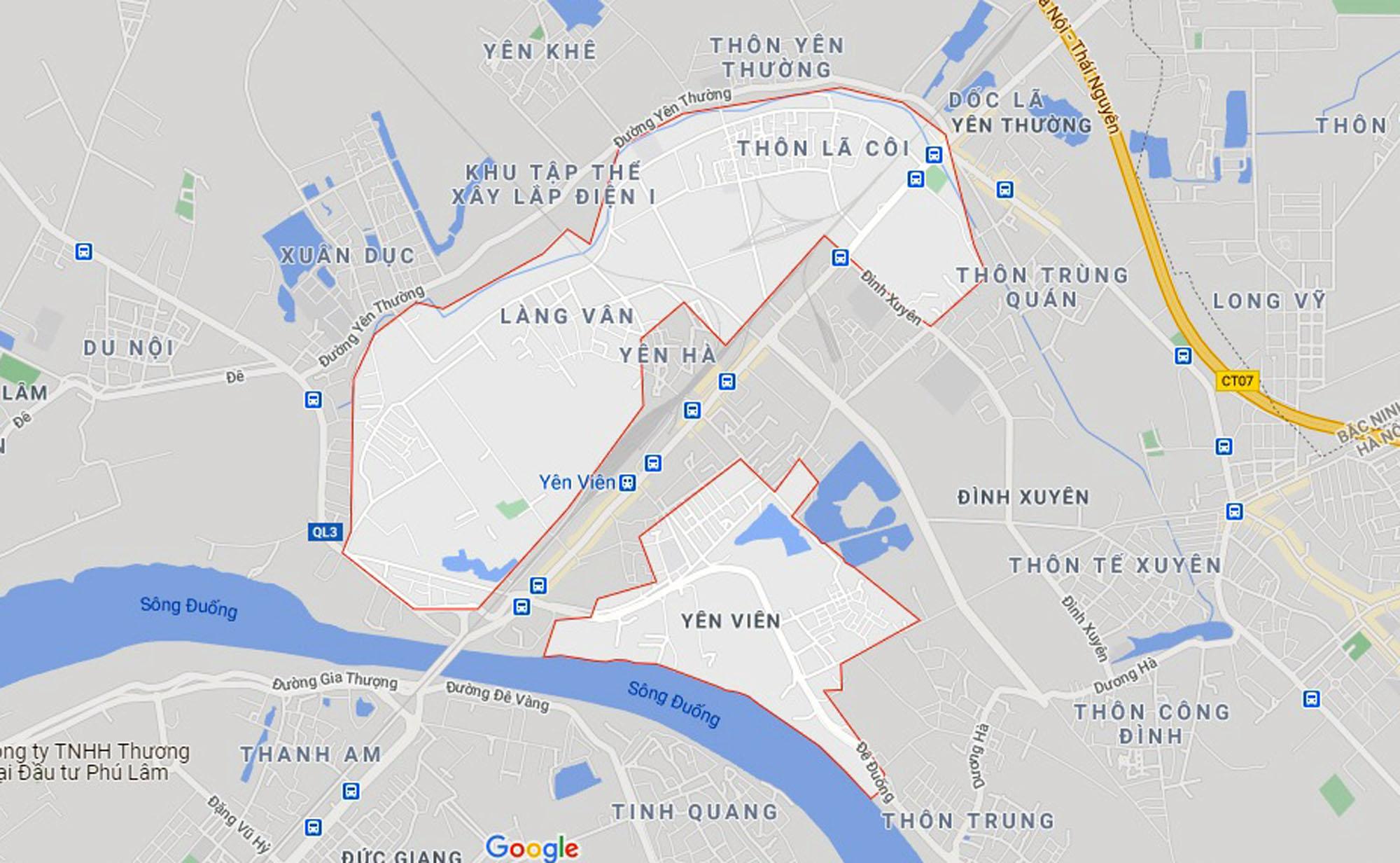 đường sẽ mở theo quy hoạch ở xã Yên Viên, Gia Lâm, Hà Nội - Ảnh 1.