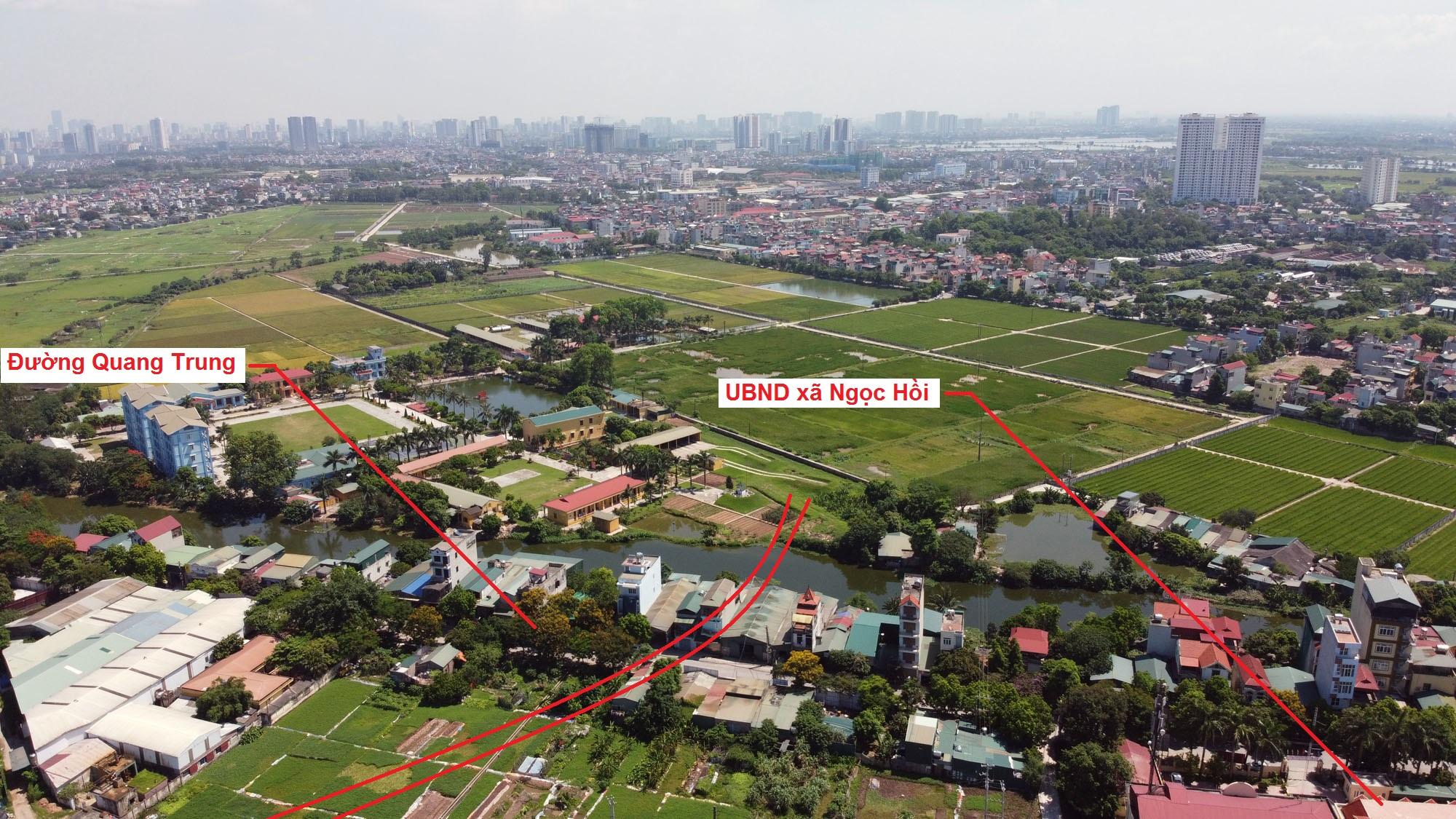 Ba đường sẽ mở theo quy hoạch ở xã Ngọc Hồi, Thanh Trì, Hà Nội - Ảnh 3.