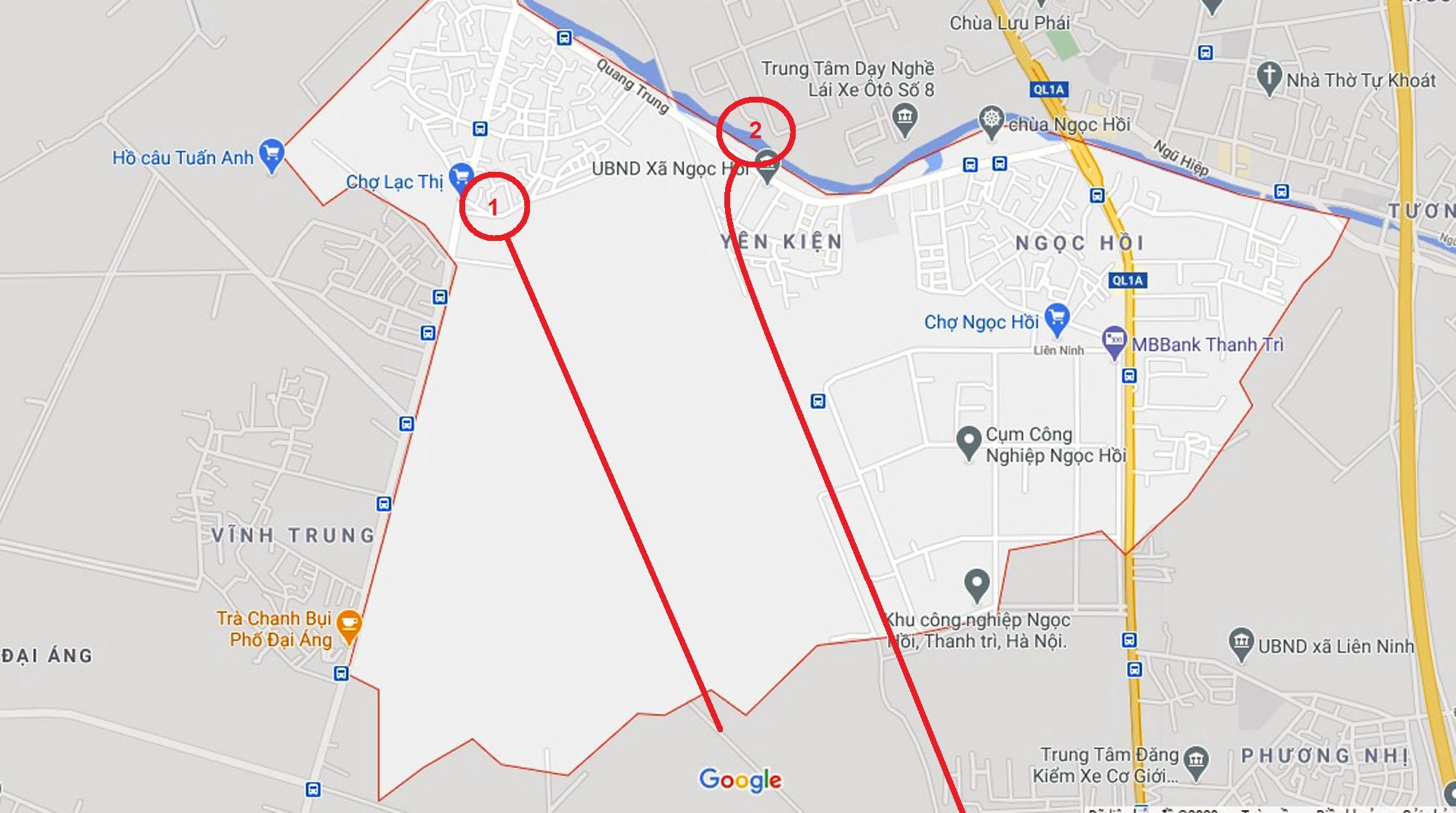 Ba đường sẽ mở theo quy hoạch ở xã Ngọc Hồi, Thanh Trì, Hà Nội - Ảnh 6.