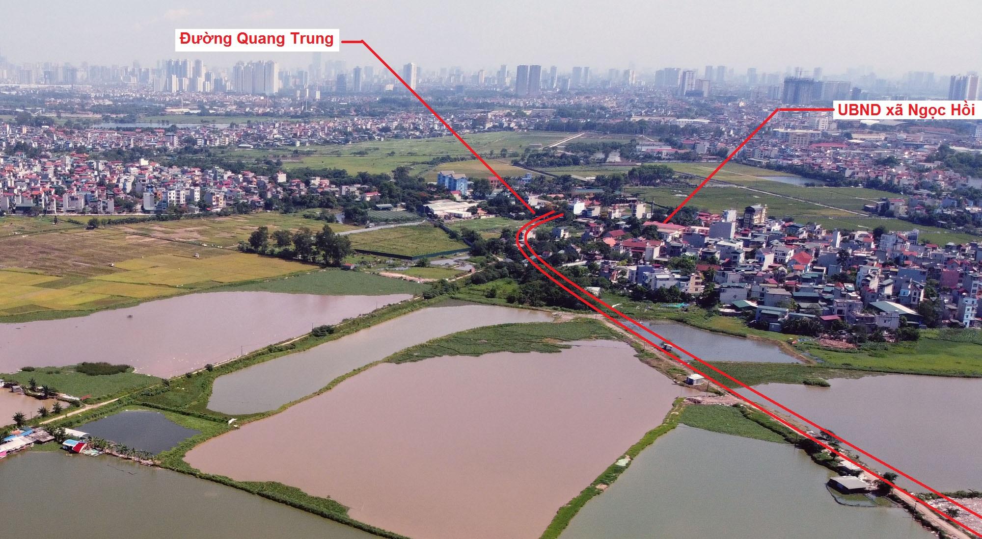 Ba đường sẽ mở theo quy hoạch ở xã Ngọc Hồi, Thanh Trì, Hà Nội - Ảnh 9.