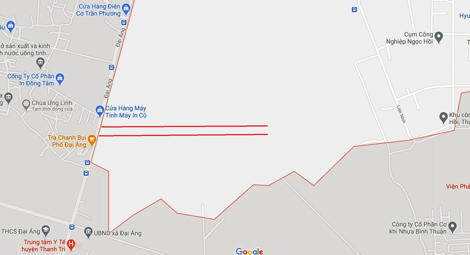 Ba đường sẽ mở theo quy hoạch ở xã Ngọc Hồi, Thanh Trì, Hà Nội - Ảnh 12.