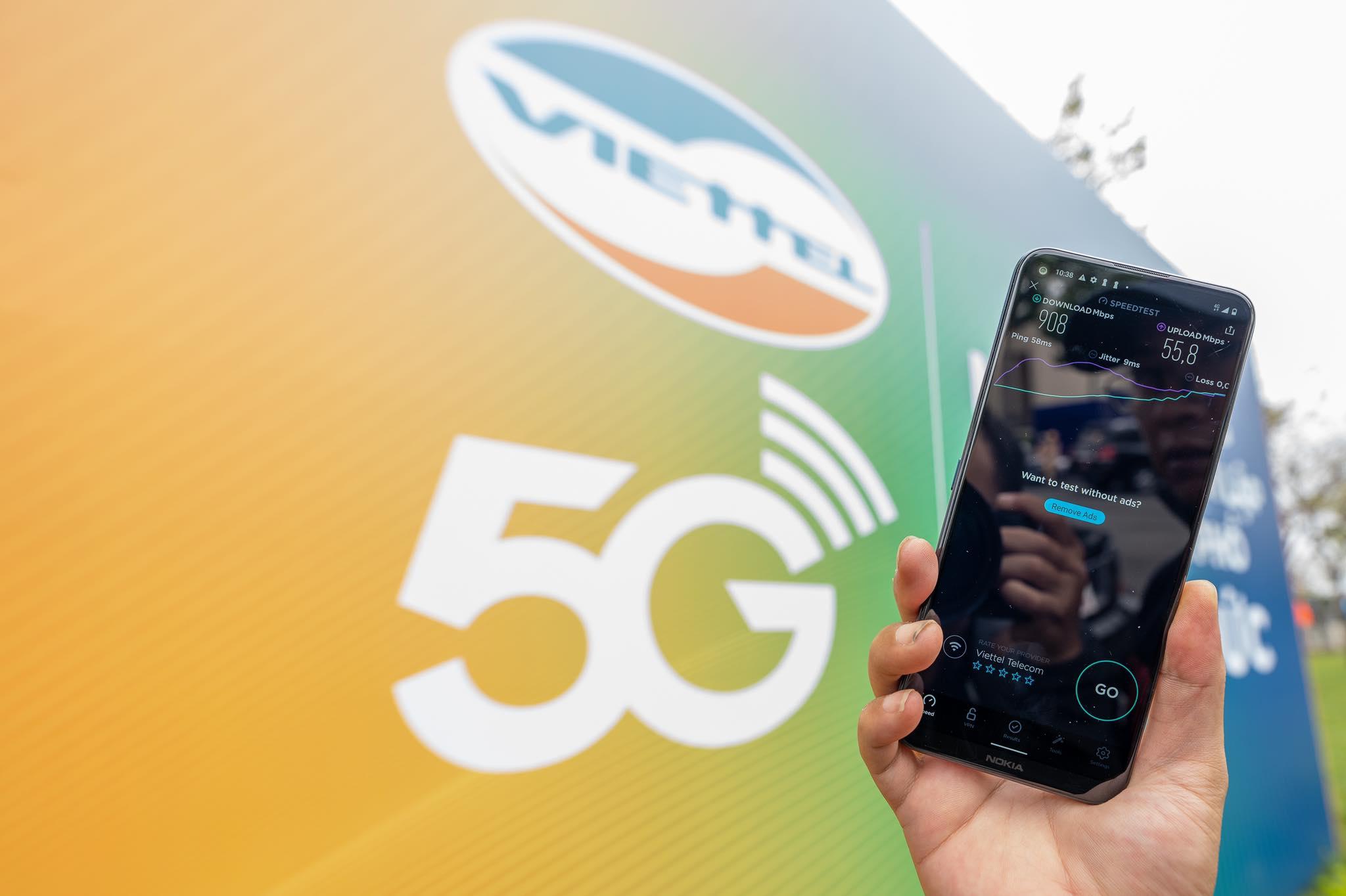 Sóng 5G được phủ tại thành phố Thủ Đức - Ảnh 1.