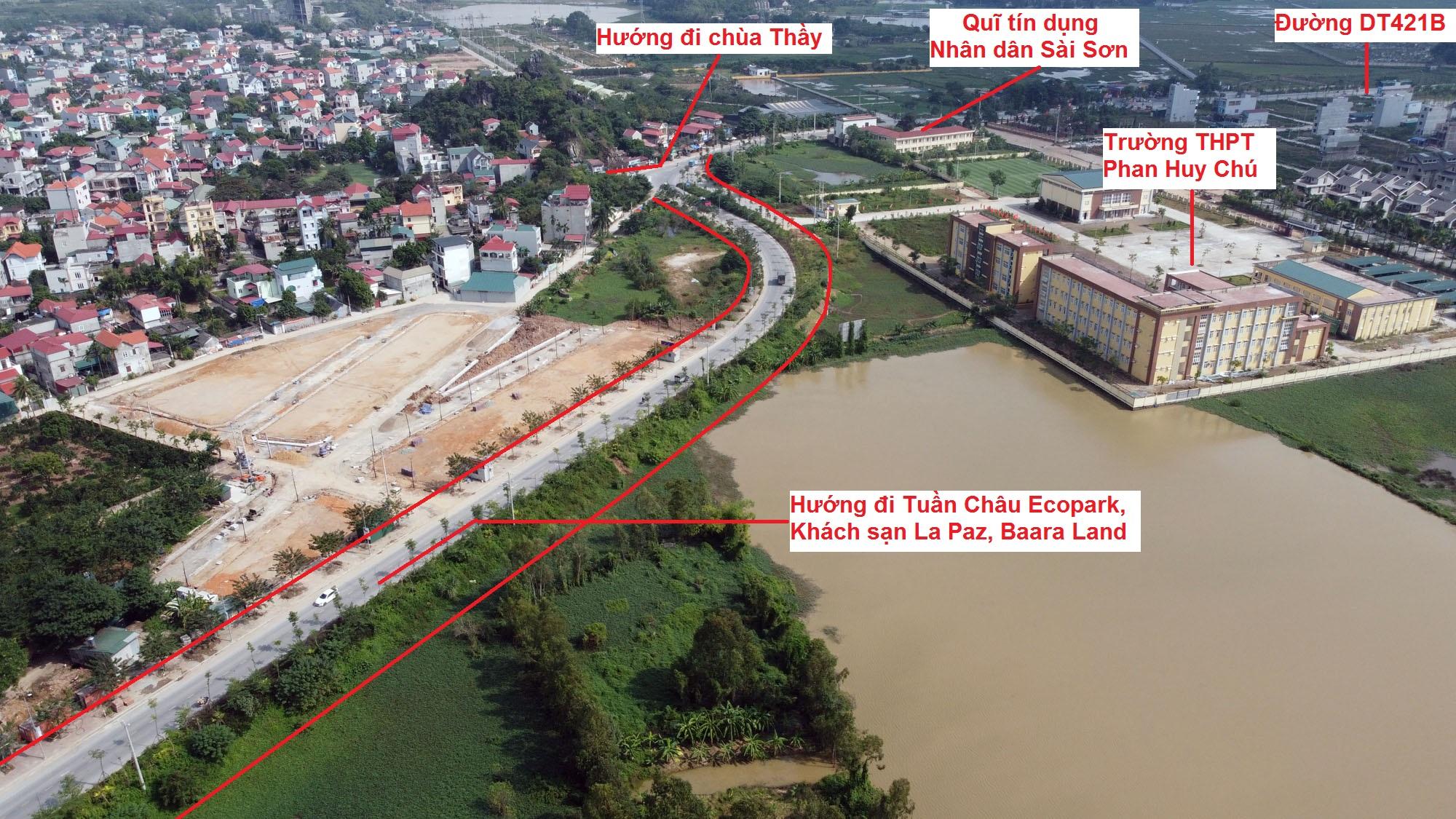 Ba đường sẽ mở theo qui hoạch ở xã Sài Sơn, Quốc Oai, Hà Nội - Ảnh 3.