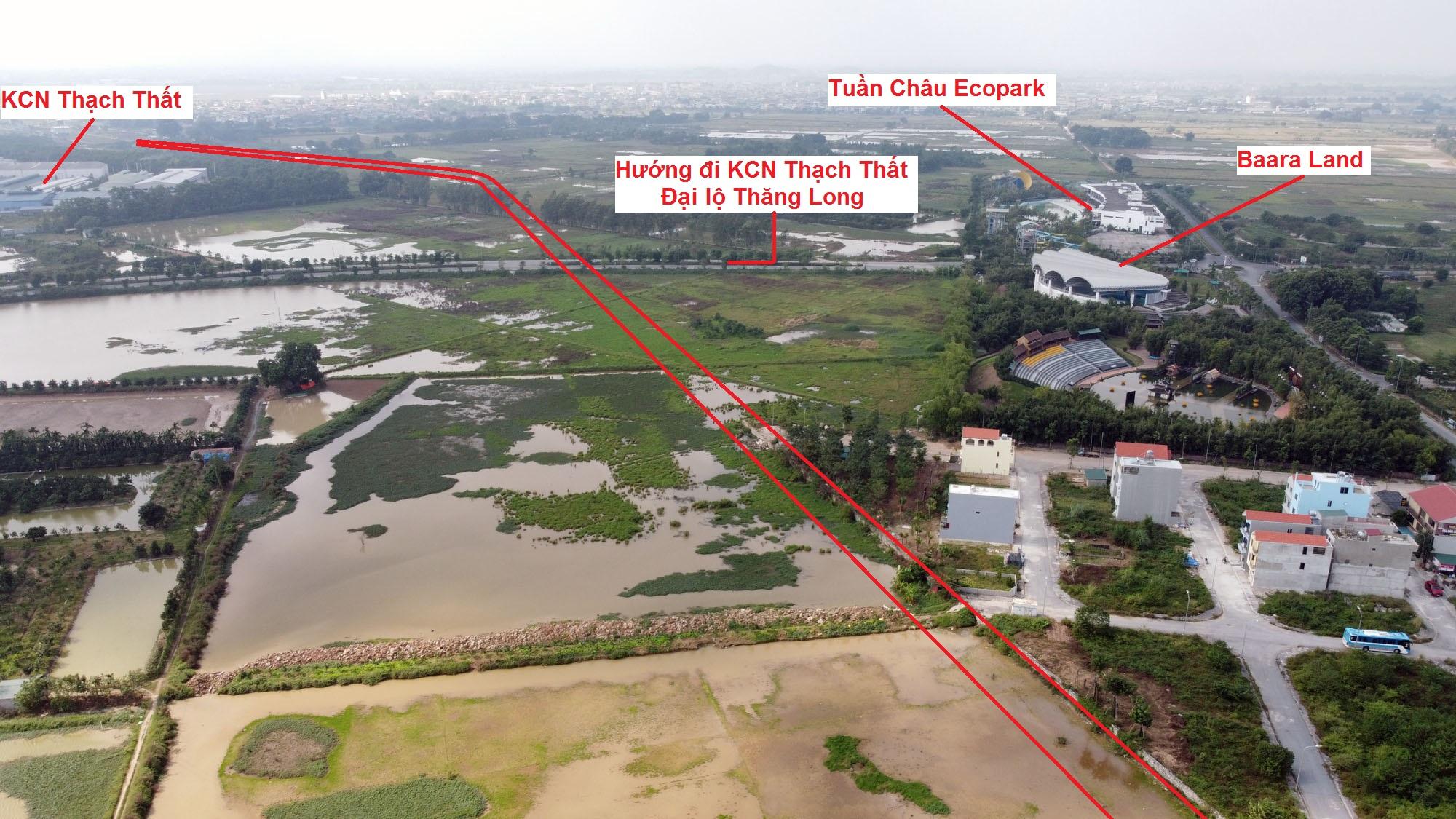 Ba đường sẽ mở theo qui hoạch ở xã Sài Sơn, Quốc Oai, Hà Nội - Ảnh 5.