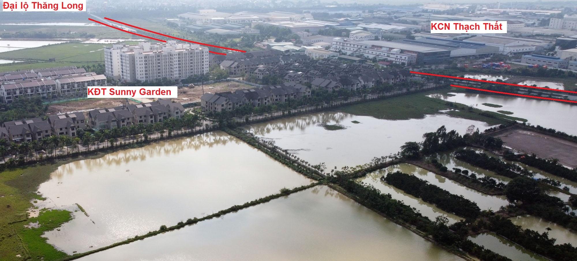 Ba đường sẽ mở theo qui hoạch ở xã Sài Sơn, Quốc Oai, Hà Nội - Ảnh 8.