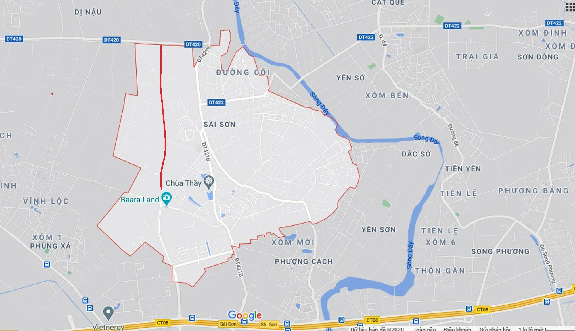 Ba đường sẽ mở theo qui hoạch ở xã Sài Sơn, Quốc Oai, Hà Nội - Ảnh 7.