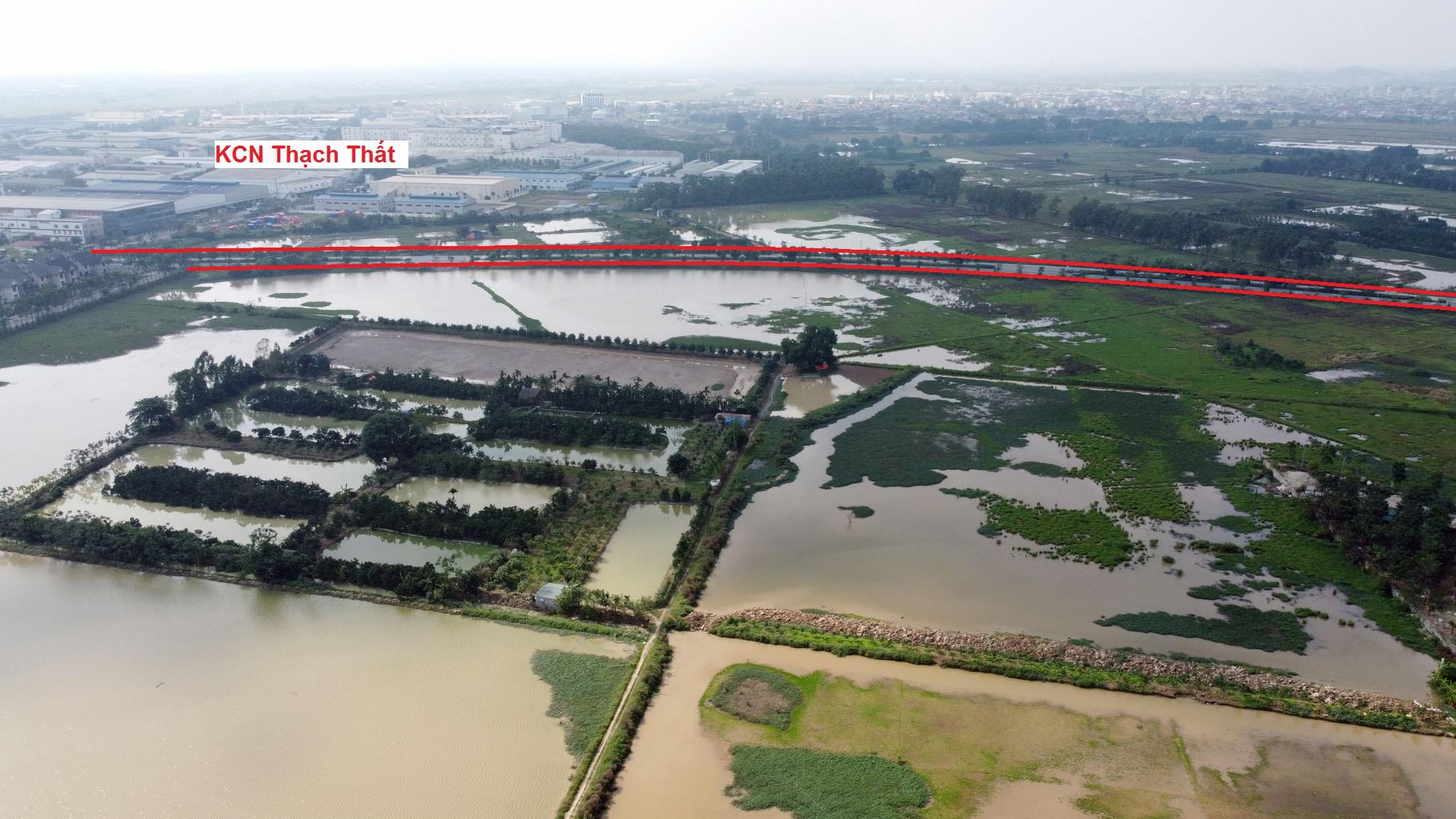 Ba đường sẽ mở theo qui hoạch ở xã Sài Sơn, Quốc Oai, Hà Nội - Ảnh 9.