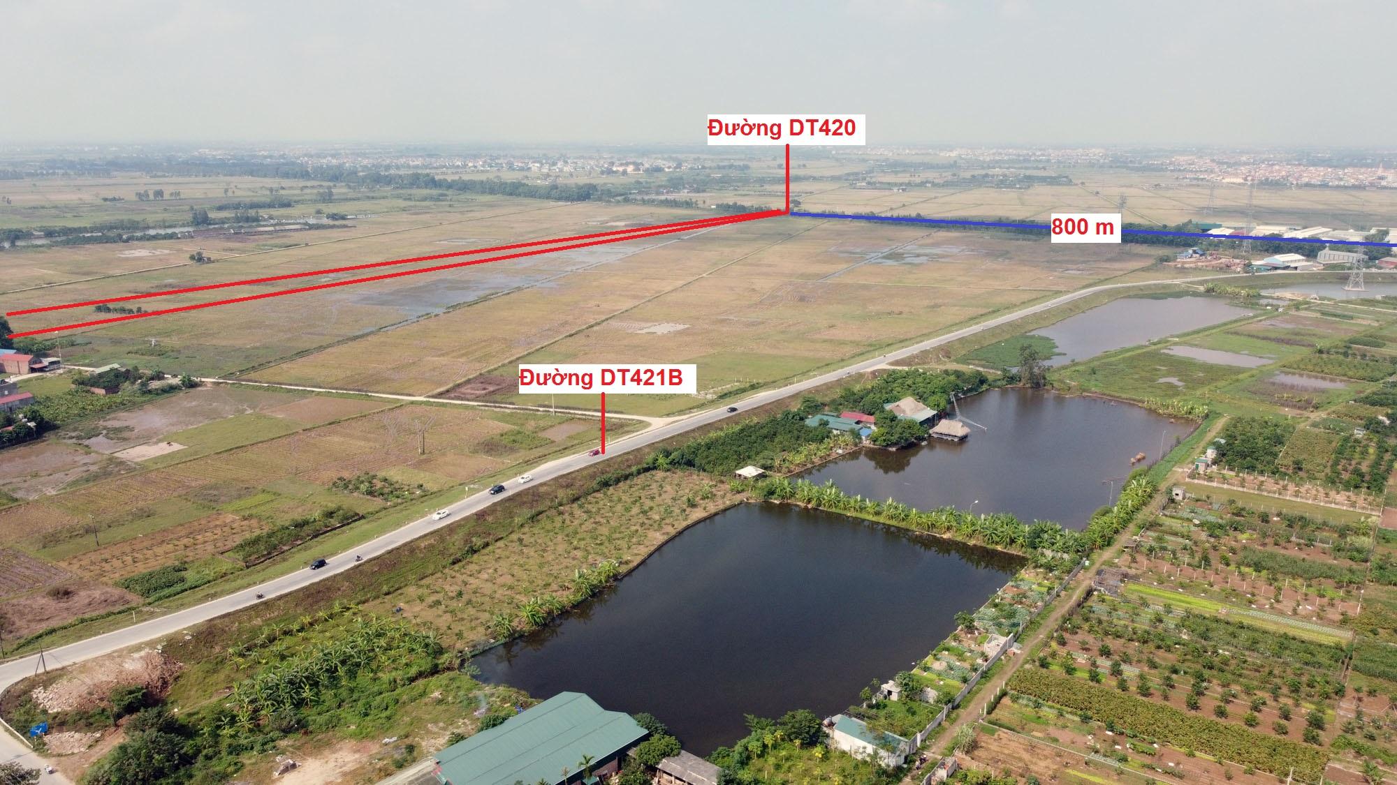 Ba đường sẽ mở theo qui hoạch ở xã Sài Sơn, Quốc Oai, Hà Nội - Ảnh 12.