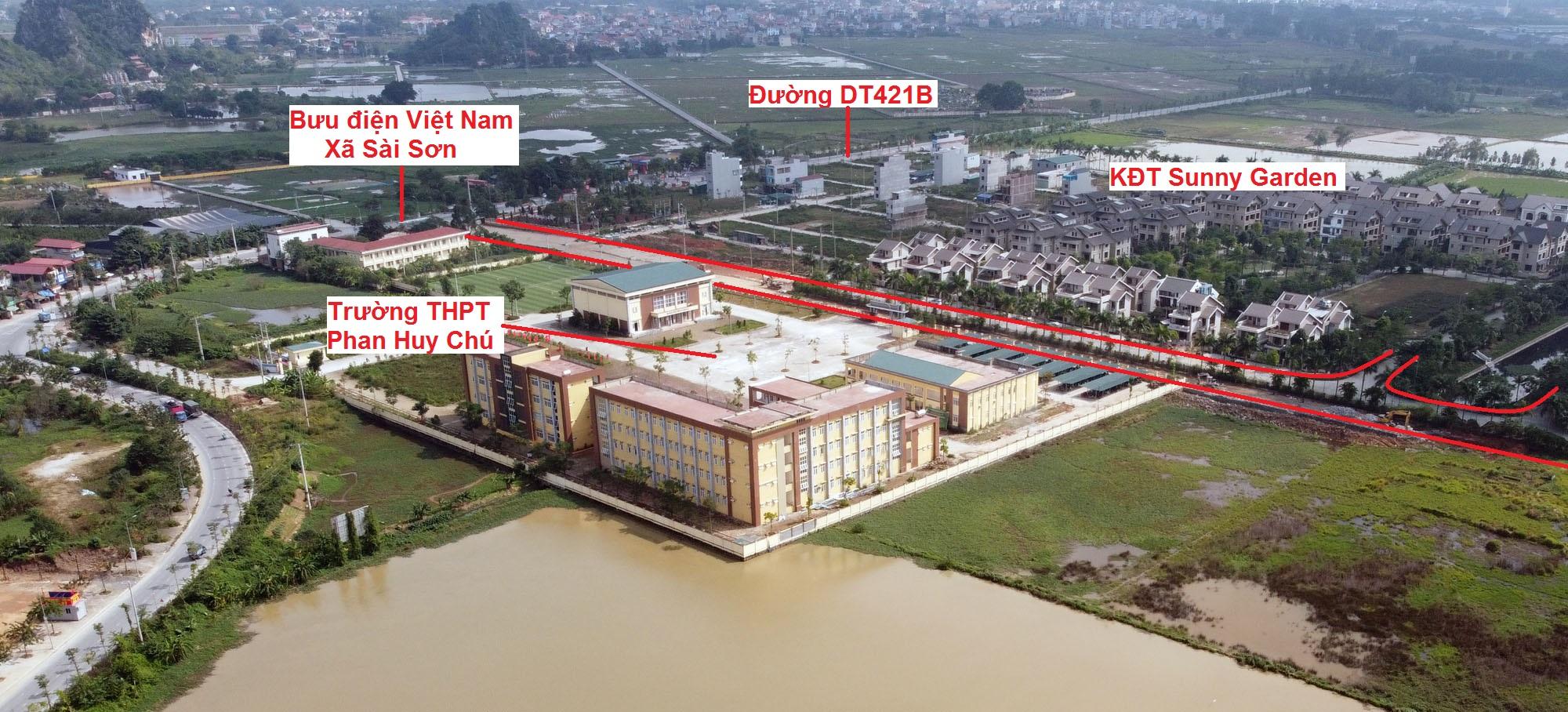 Ba đường sẽ mở theo qui hoạch ở xã Sài Sơn, Quốc Oai, Hà Nội - Ảnh 14.