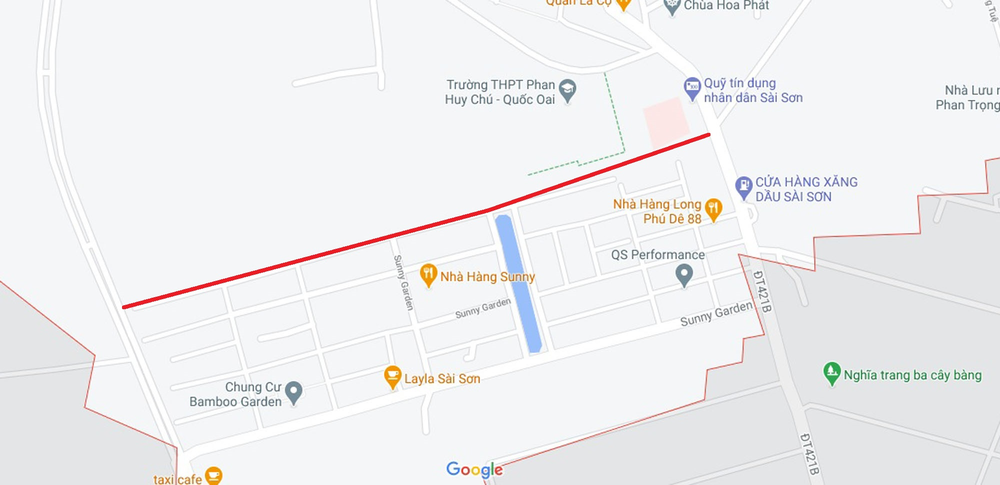Ba đường sẽ mở theo qui hoạch ở xã Sài Sơn, Quốc Oai, Hà Nội - Ảnh 13.
