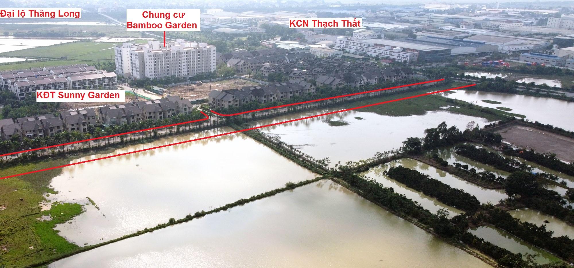 Ba đường sẽ mở theo qui hoạch ở xã Sài Sơn, Quốc Oai, Hà Nội - Ảnh 16.