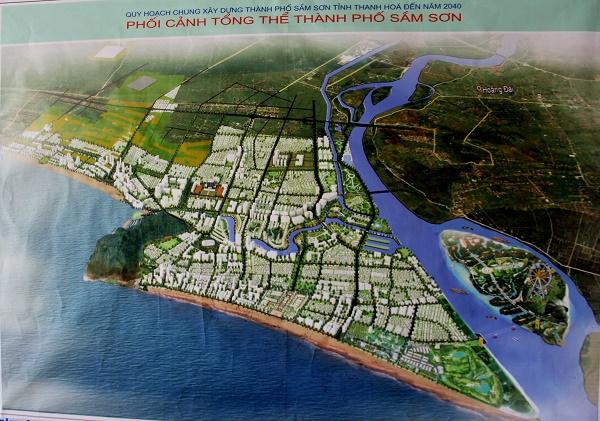 Thanh Hóa duyệt qui hoạch khu trung tâm thương mại hơn 700 ha tại TP Sầm Sơn - Ảnh 1.