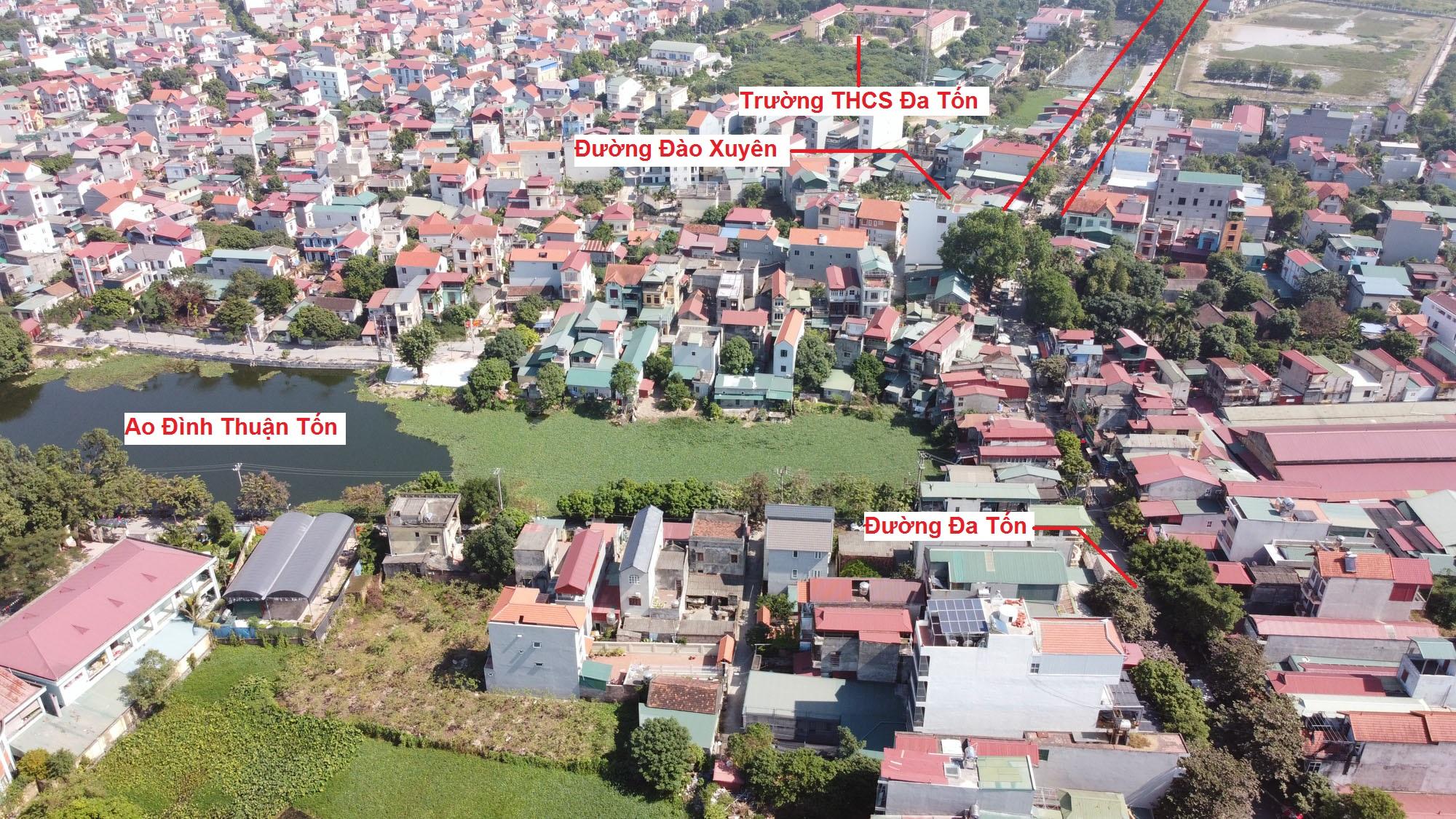 đường sẽ mở theo qui hoạch ở xã Đa Tốn, Gia Lâm, Hà Nội - Ảnh 3.
