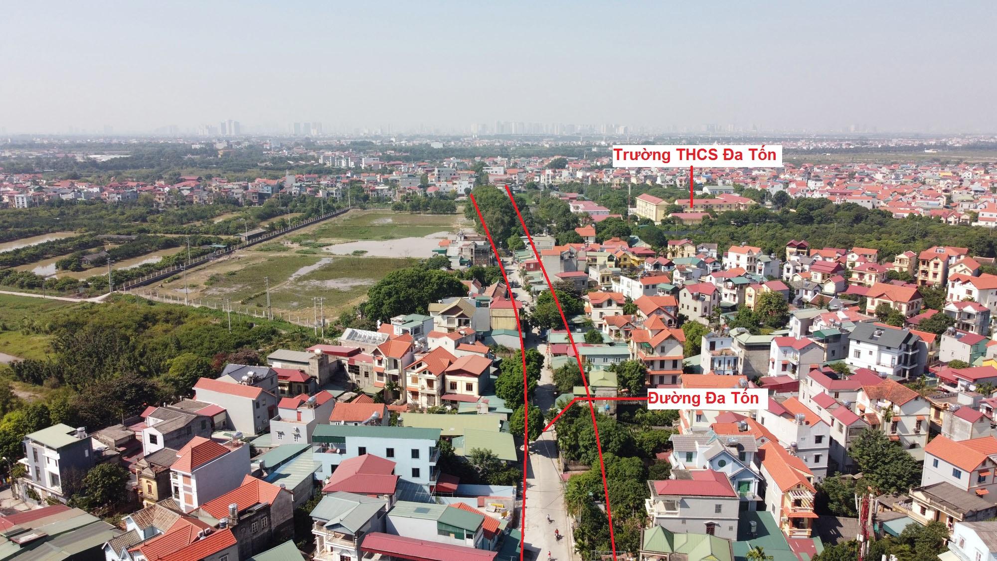 đường sẽ mở theo qui hoạch ở xã Đa Tốn, Gia Lâm, Hà Nội - Ảnh 4.