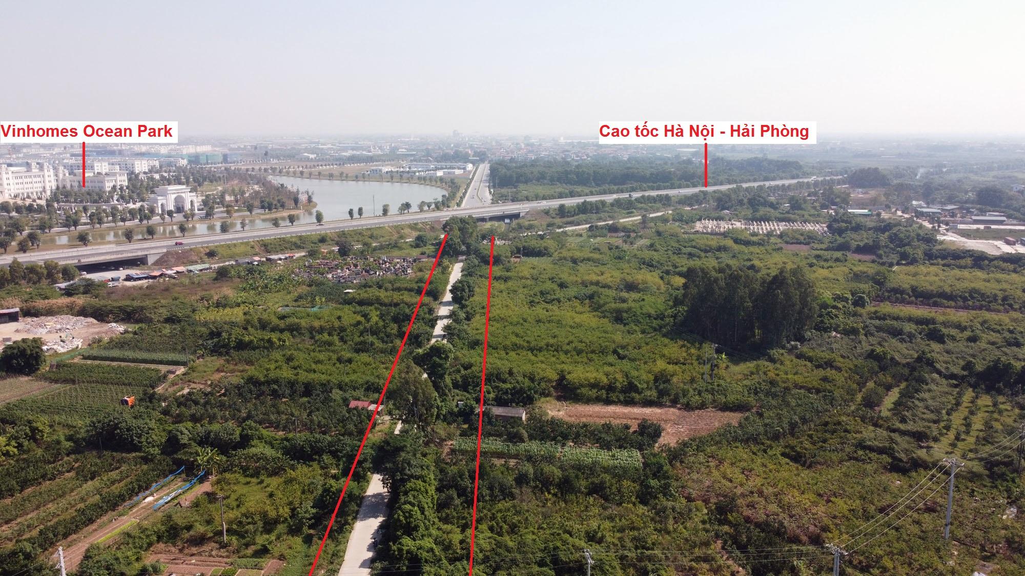 đường sẽ mở theo qui hoạch ở xã Đa Tốn, Gia Lâm, Hà Nội - Ảnh 6.