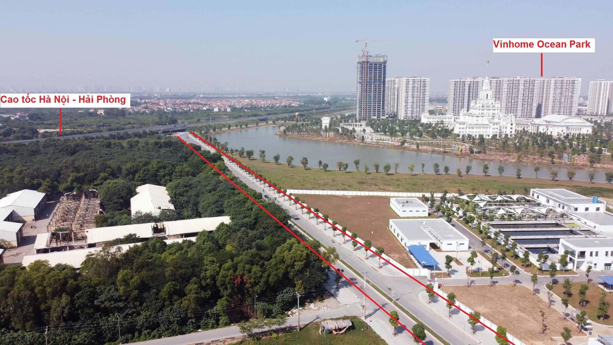 đường sẽ mở theo qui hoạch ở xã Đa Tốn, Gia Lâm, Hà Nội - Ảnh 7.
