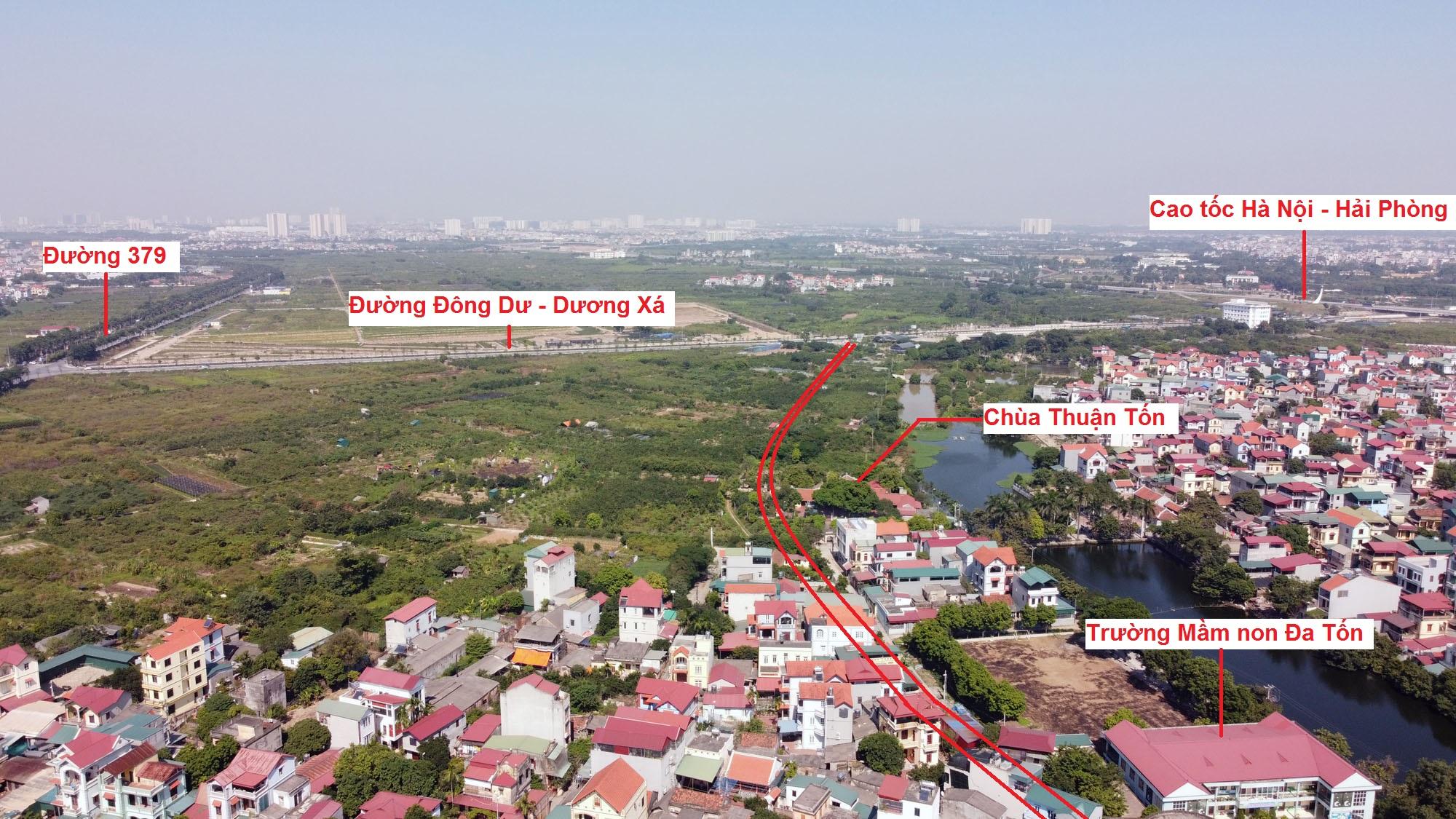 đường sẽ mở theo qui hoạch ở xã Đa Tốn, Gia Lâm, Hà Nội - Ảnh 9.