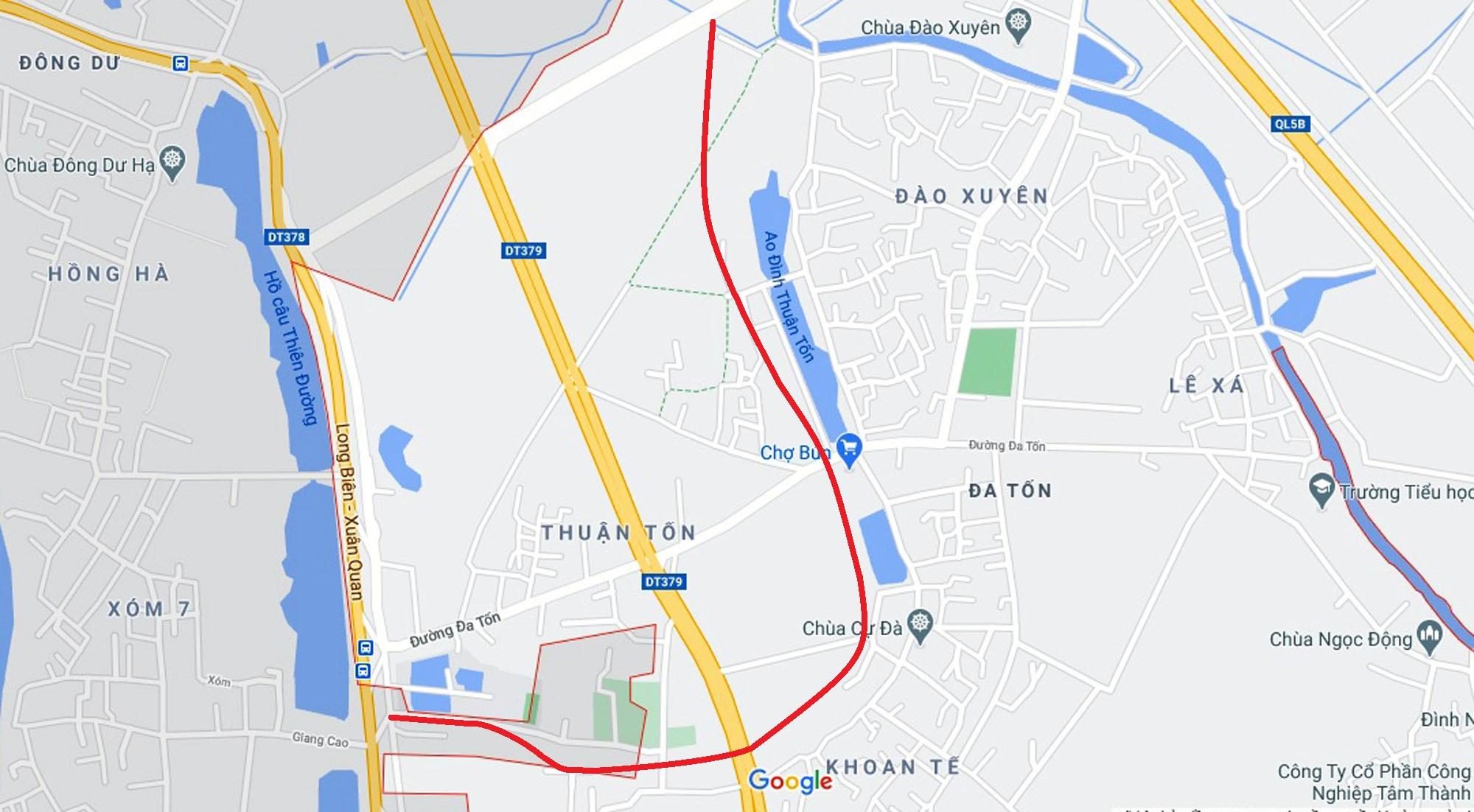 đường sẽ mở theo qui hoạch ở xã Đa Tốn, Gia Lâm, Hà Nội - Ảnh 8.