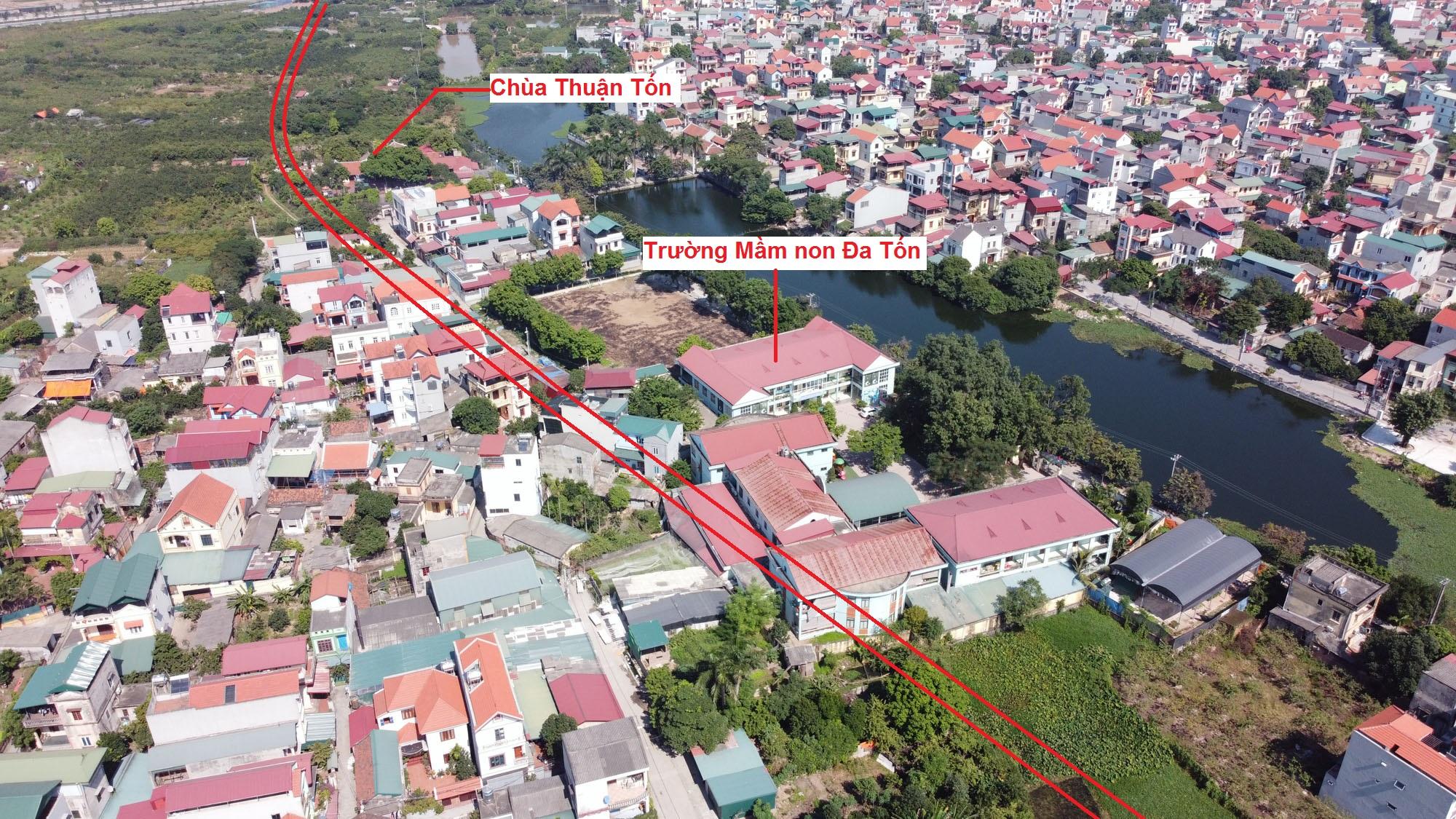 đường sẽ mở theo qui hoạch ở xã Đa Tốn, Gia Lâm, Hà Nội - Ảnh 10.