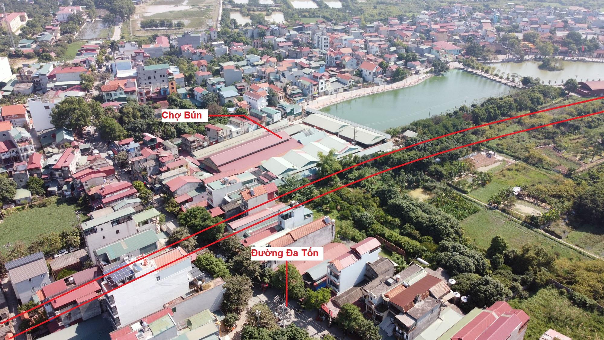đường sẽ mở theo qui hoạch ở xã Đa Tốn, Gia Lâm, Hà Nội - Ảnh 11.