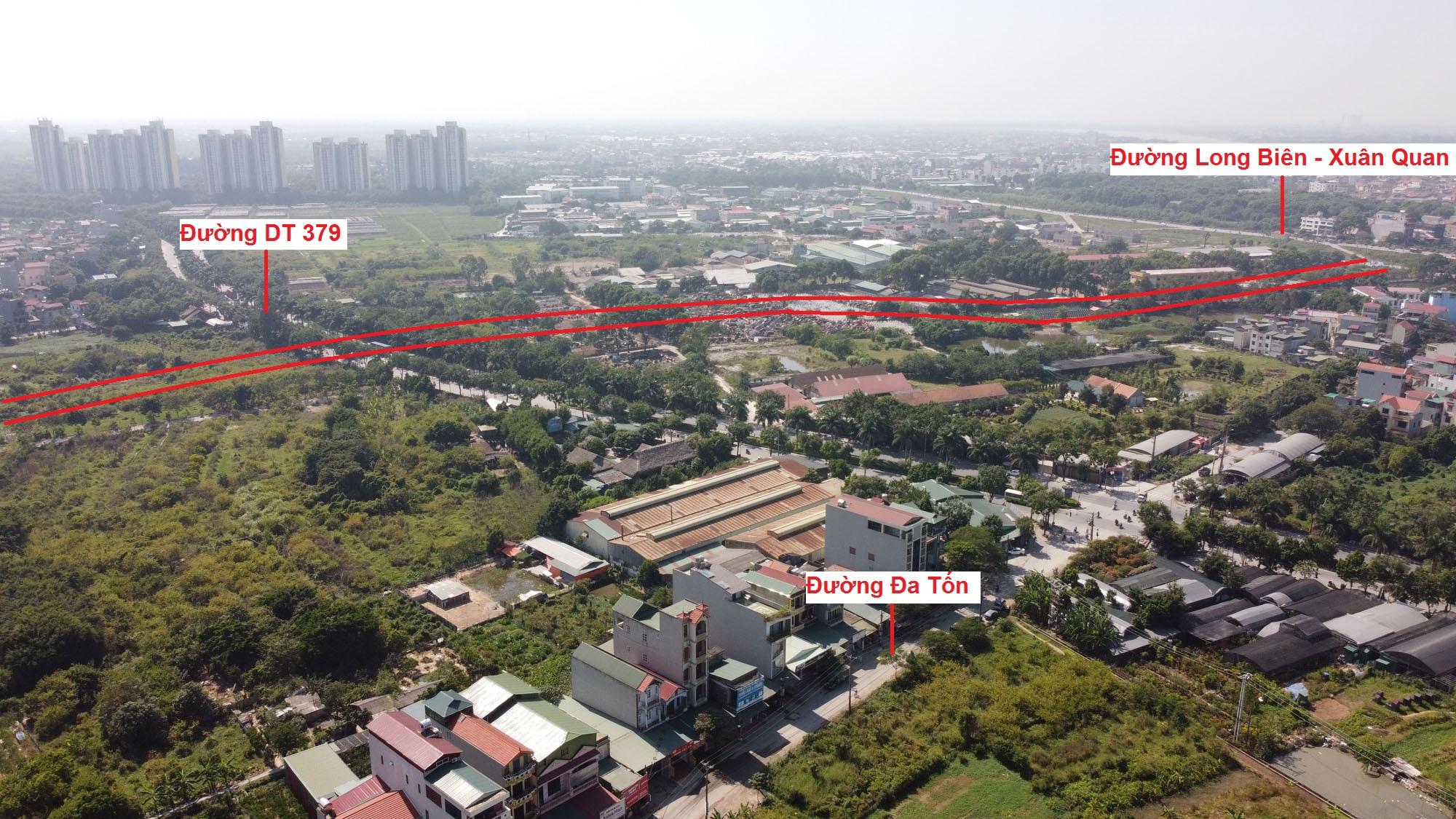đường sẽ mở theo qui hoạch ở xã Đa Tốn, Gia Lâm, Hà Nội - Ảnh 13.