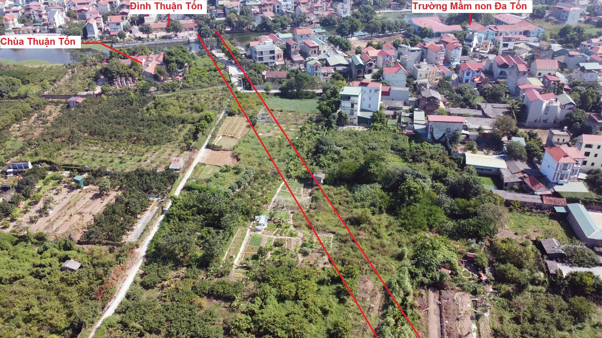 đường sẽ mở theo qui hoạch ở xã Đa Tốn, Gia Lâm, Hà Nội - Ảnh 15.