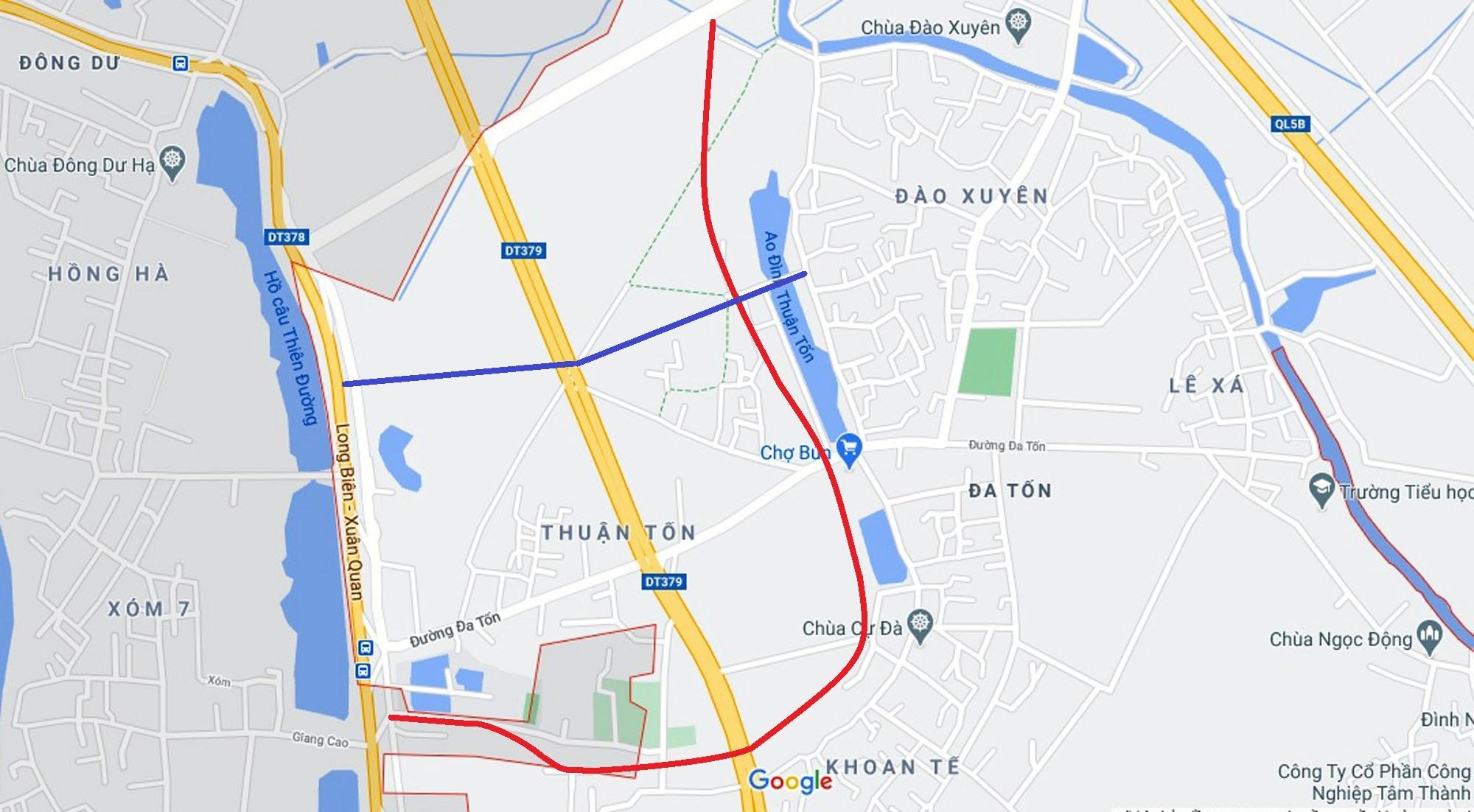 đường sẽ mở theo qui hoạch ở xã Đa Tốn, Gia Lâm, Hà Nội - Ảnh 14.