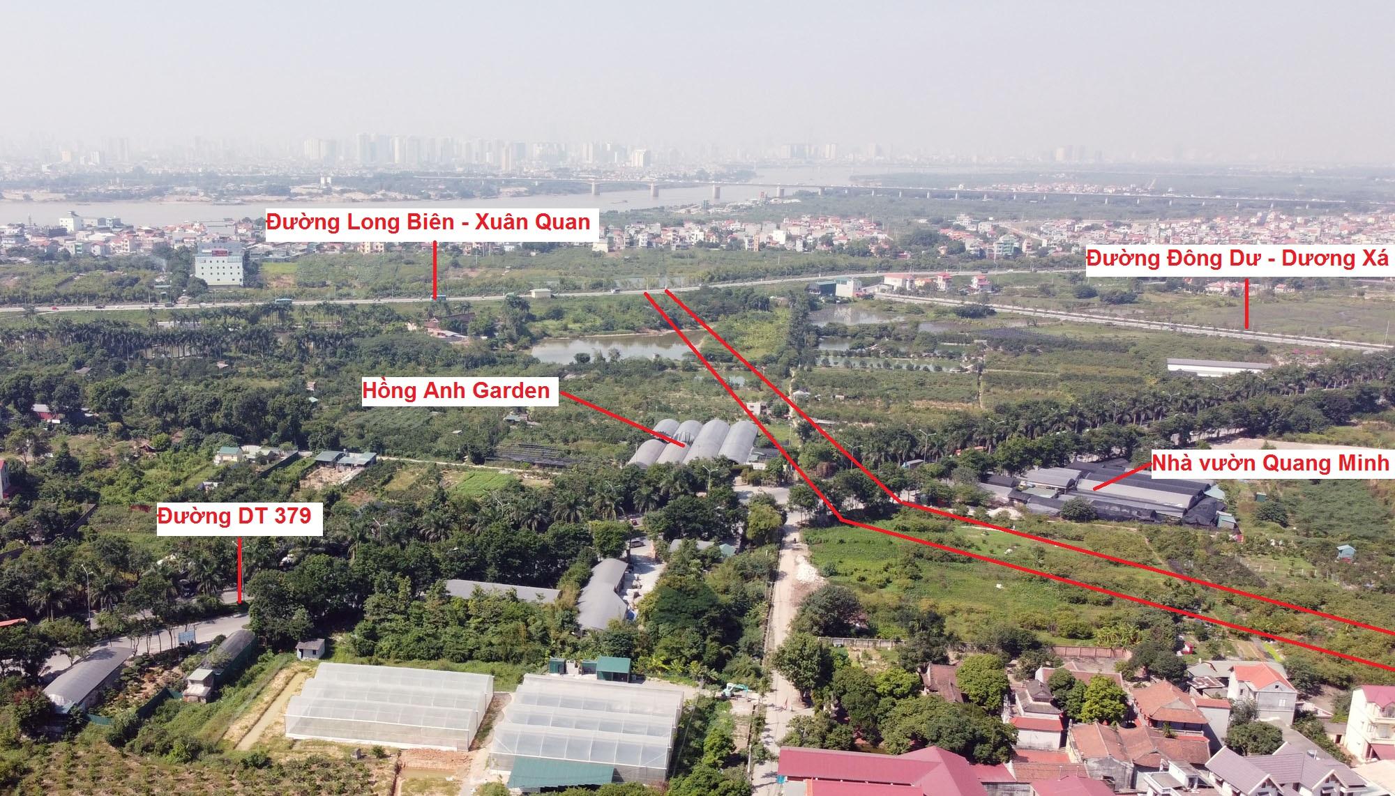 đường sẽ mở theo qui hoạch ở xã Đa Tốn, Gia Lâm, Hà Nội - Ảnh 17.