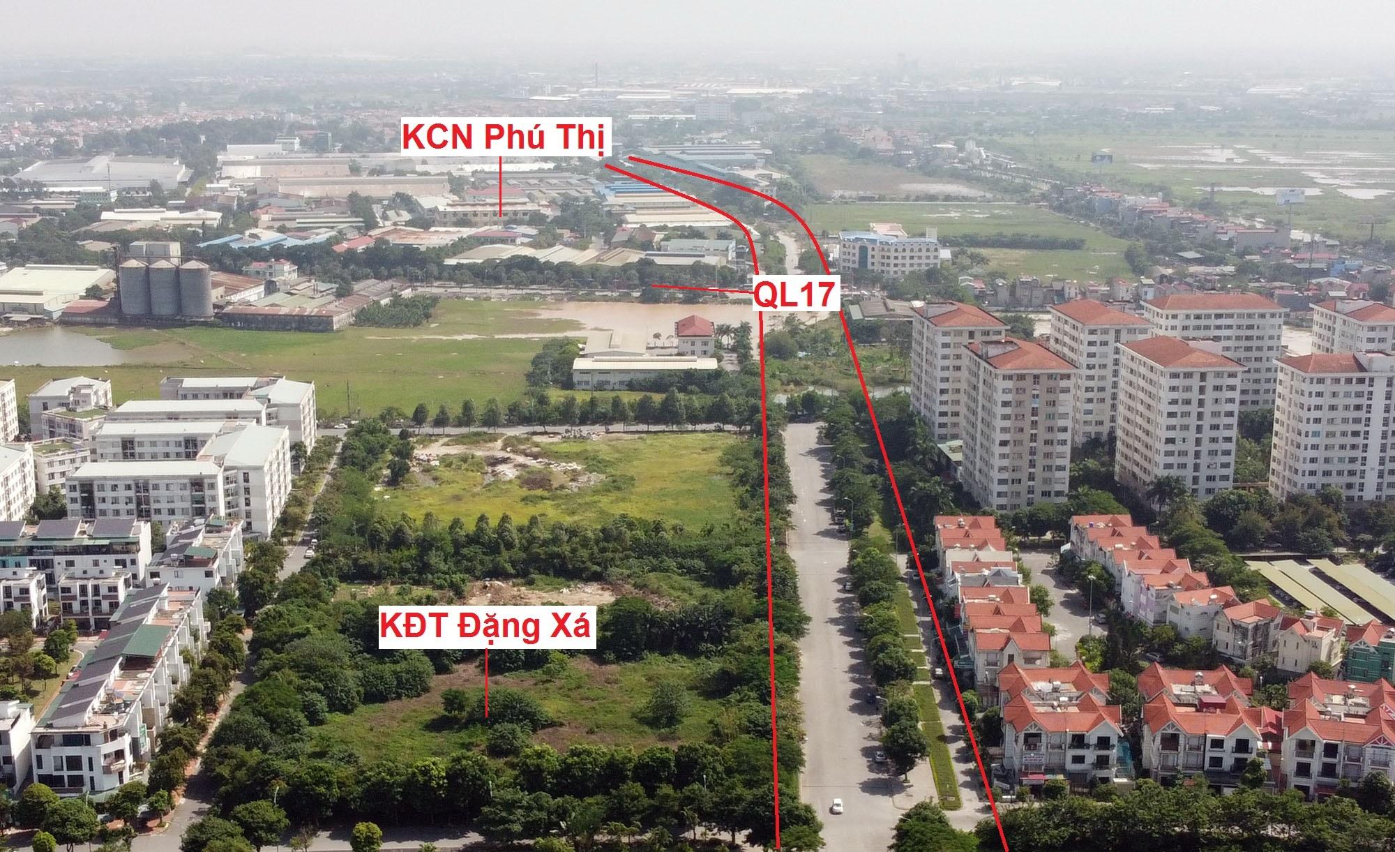 đường sẽ mở theo qui hoạch ở xã Phú Thị, Gia Lâm, Hà Nội - Ảnh 3.