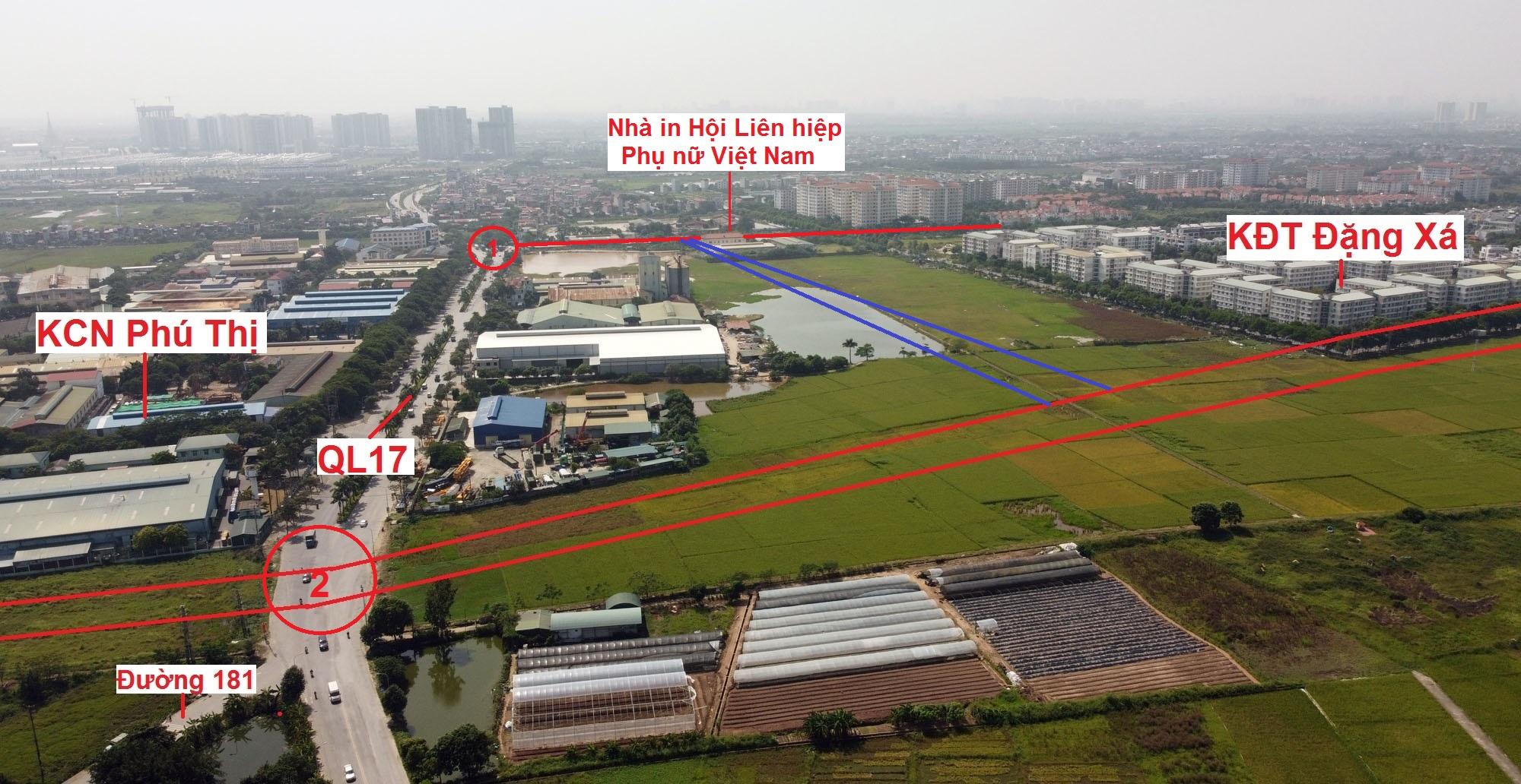 đường sẽ mở theo qui hoạch ở xã Phú Thị, Gia Lâm, Hà Nội - Ảnh 8.