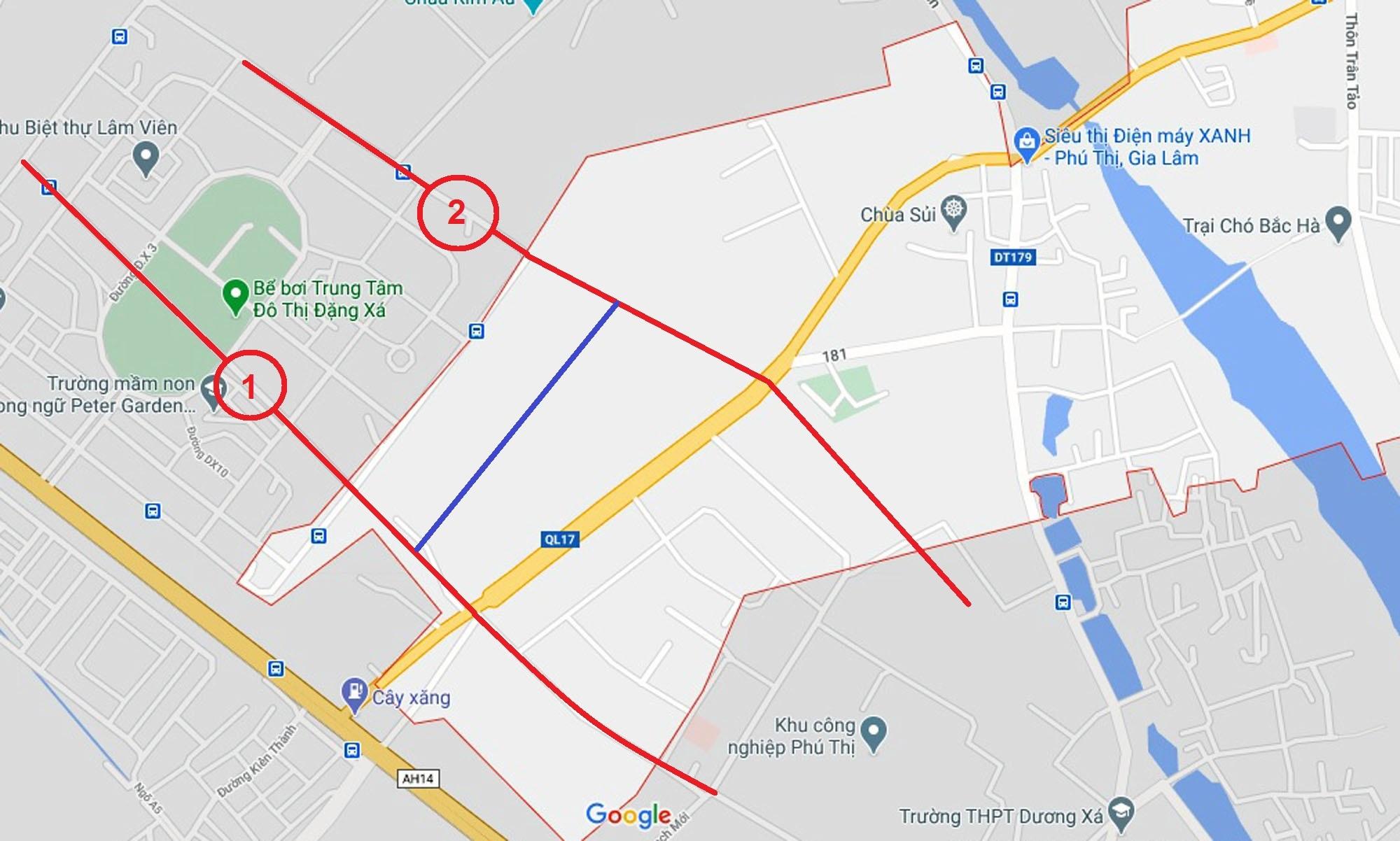 đường sẽ mở theo qui hoạch ở xã Phú Thị, Gia Lâm, Hà Nội - Ảnh 7.