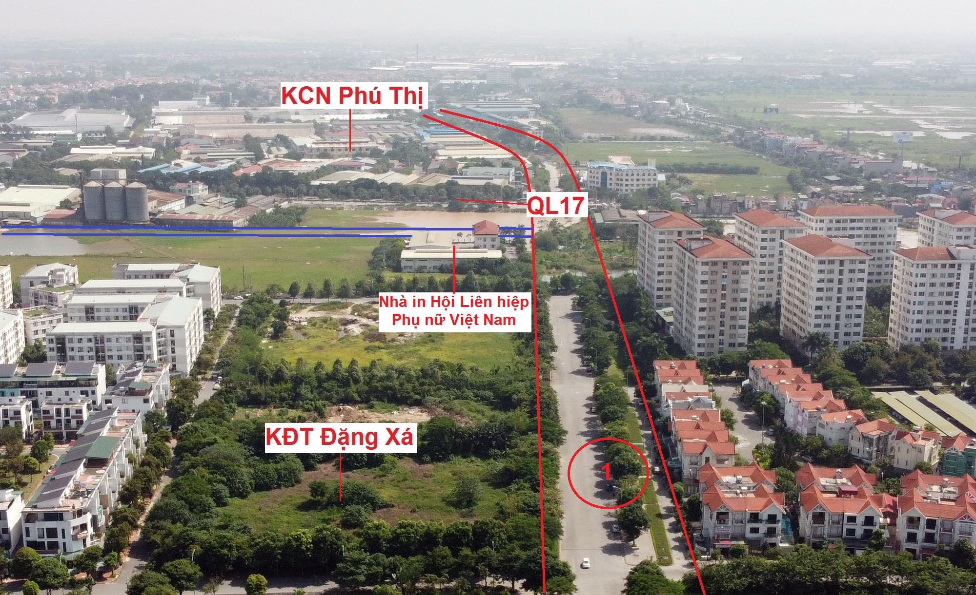 đường sẽ mở theo qui hoạch ở xã Phú Thị, Gia Lâm, Hà Nội - Ảnh 9.