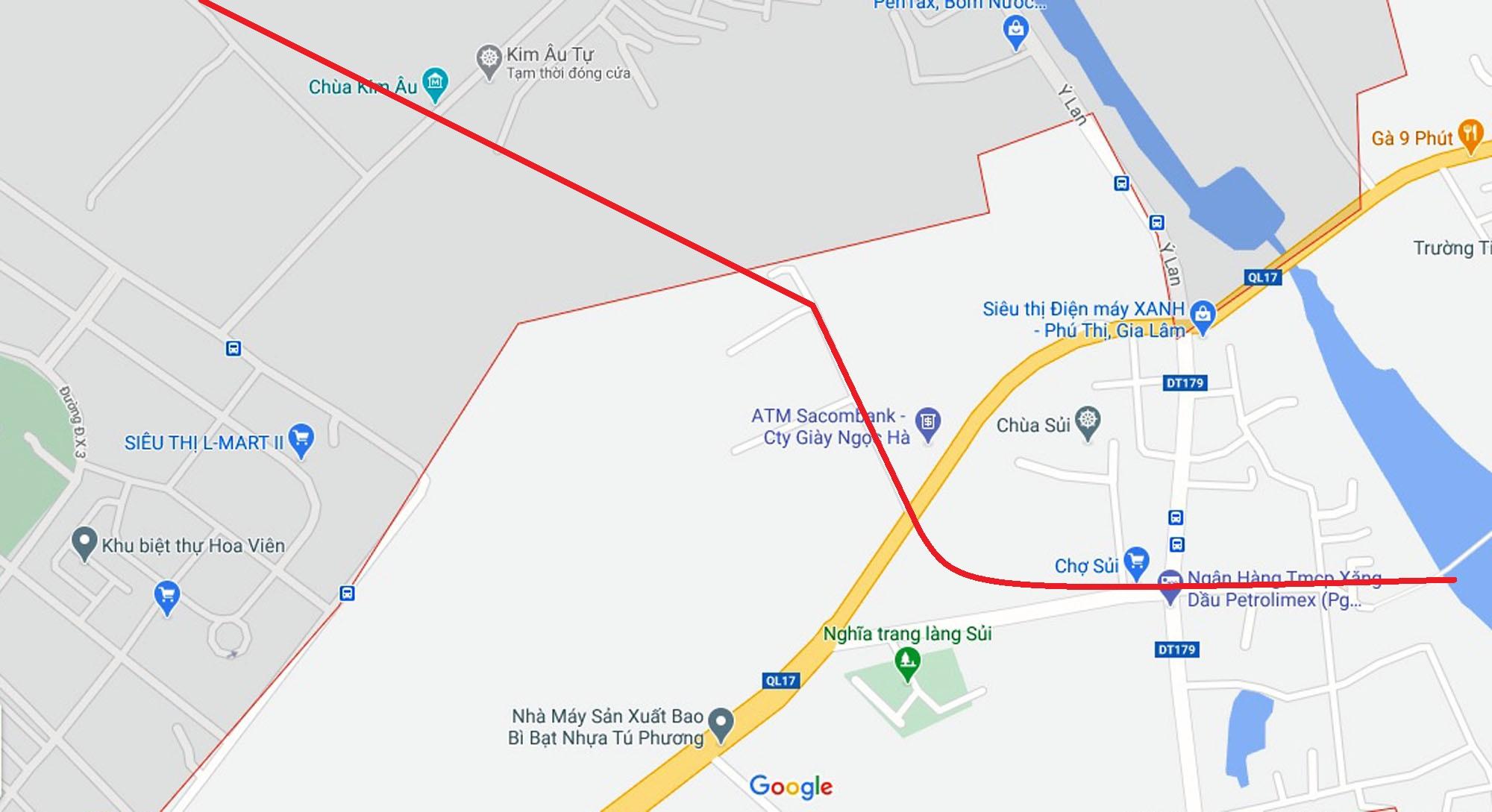 4 đường sẽ mở theo qui hoạch ở xã Phú Thị, Gia Lâm, Hà Nội - Ảnh 10.