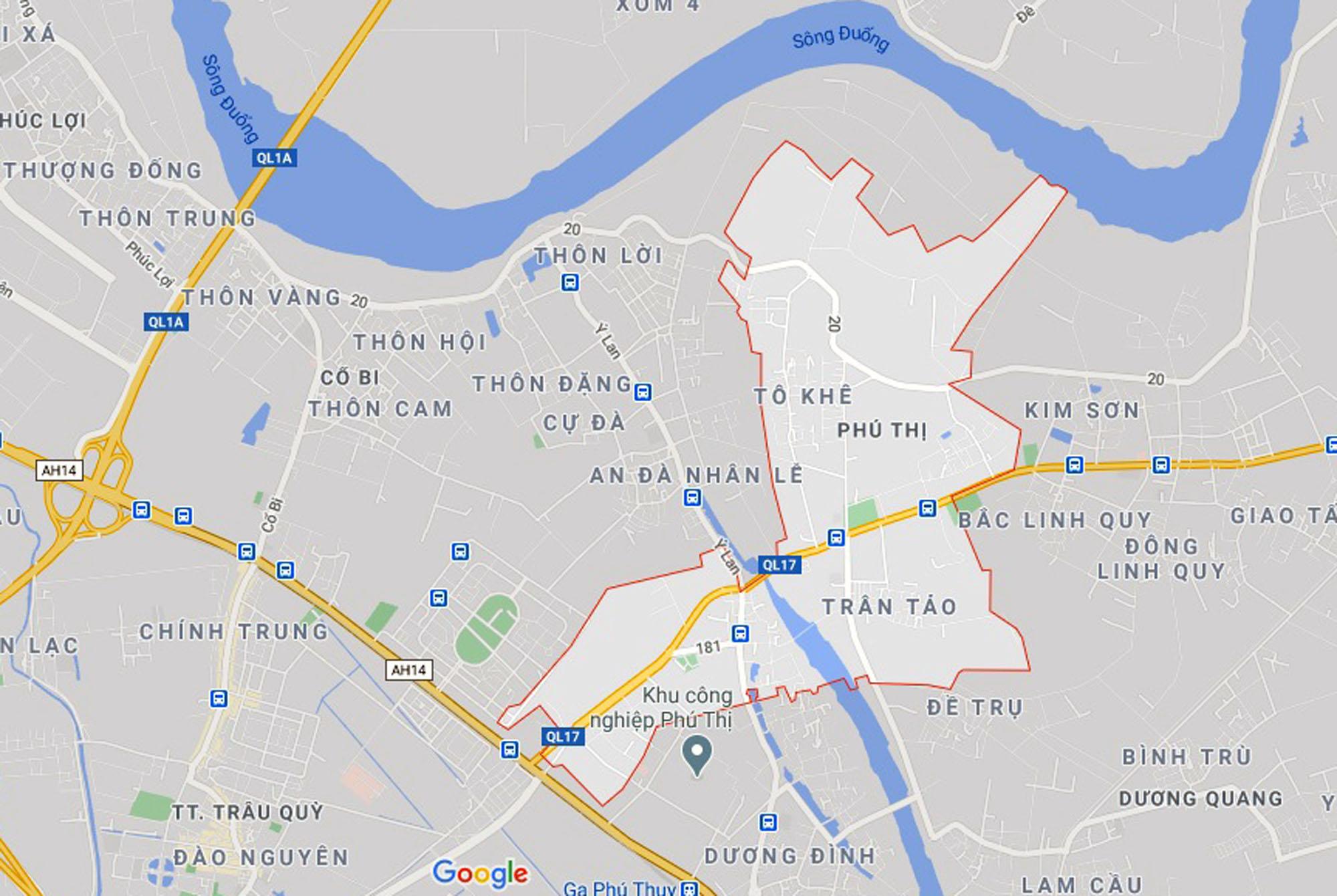 đường sẽ mở theo qui hoạch ở xã Phú Thị, Gia Lâm, Hà Nội - Ảnh 1.
