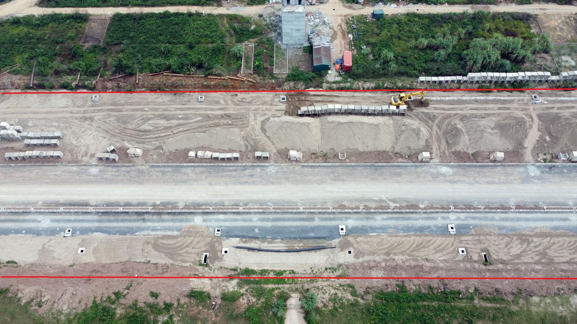 đường sẽ mở theo qui hoạch ở xã Vân Canh, Hoài Đức, Hà Nội - Ảnh 6.