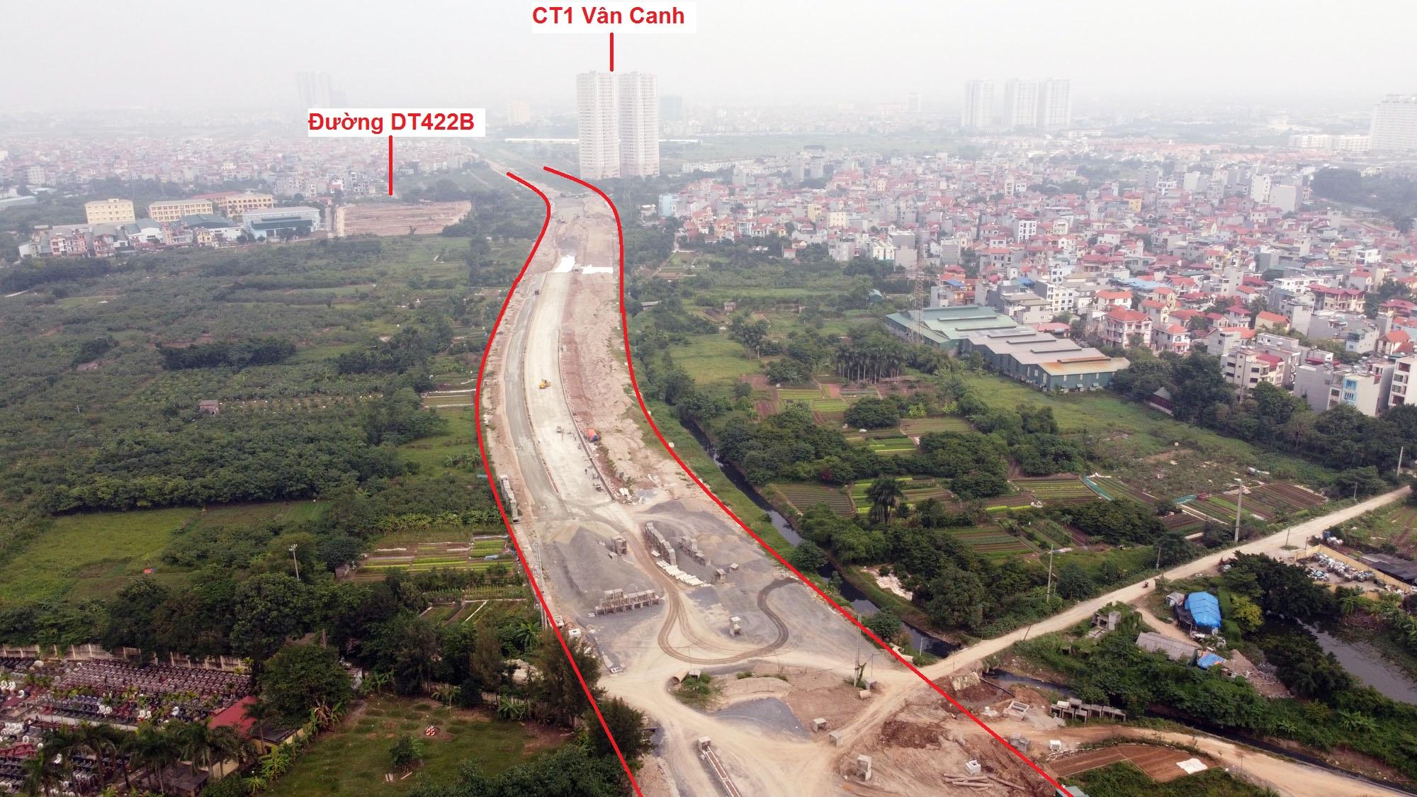 đường sẽ mở theo qui hoạch ở xã Vân Canh, Hoài Đức, Hà Nội - Ảnh 7.