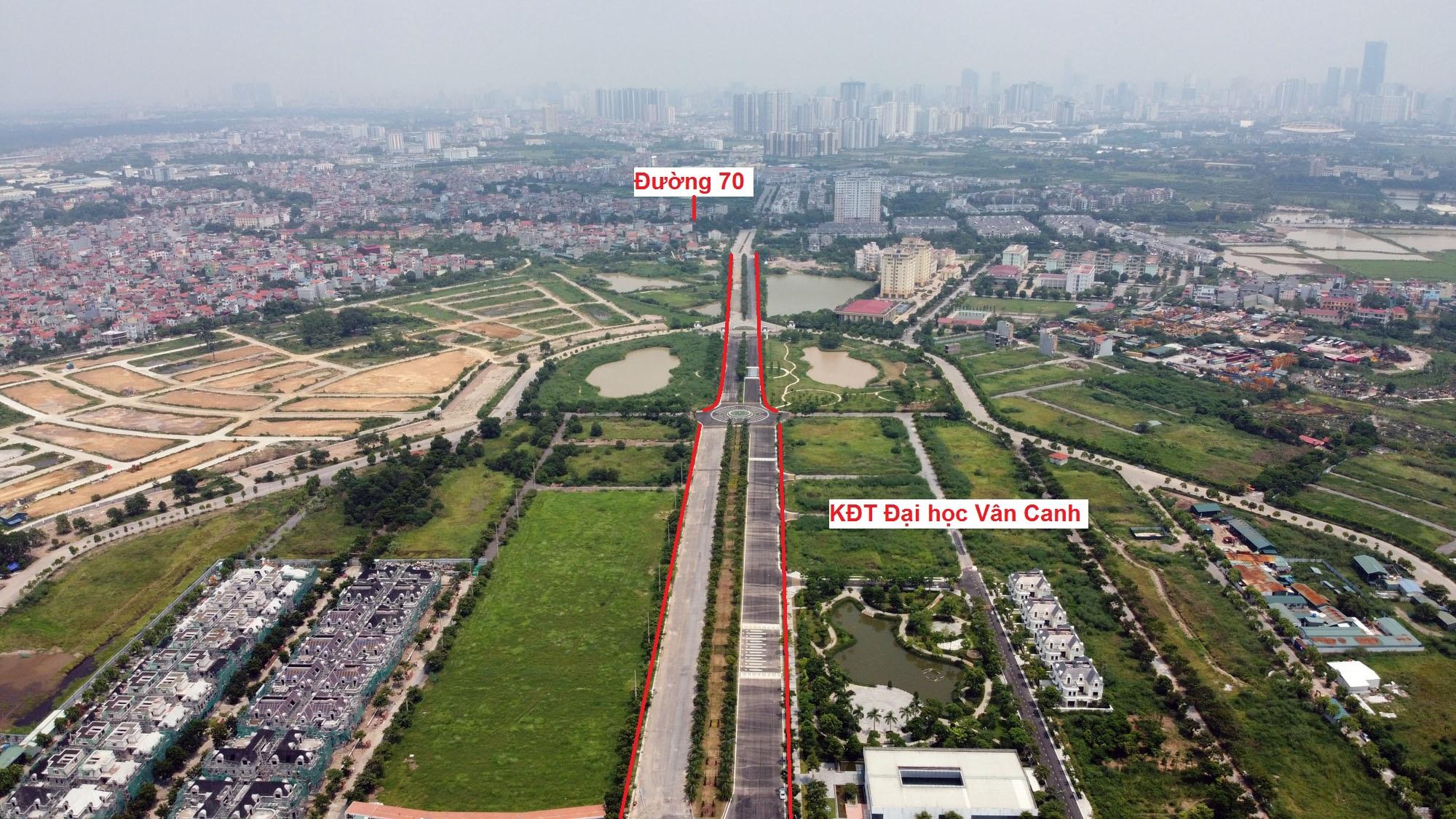 đường sẽ mở theo qui hoạch ở xã Vân Canh, Hoài Đức, Hà Nội - Ảnh 9.