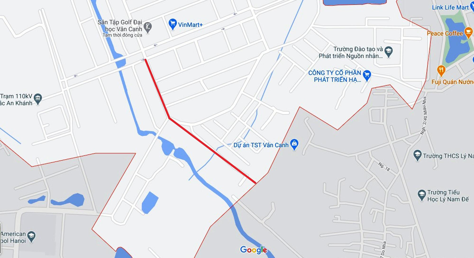 Ba đường sẽ mở theo qui hoạch ở xã Vân Canh, Hoài Đức, Hà Nội - Ảnh 12.