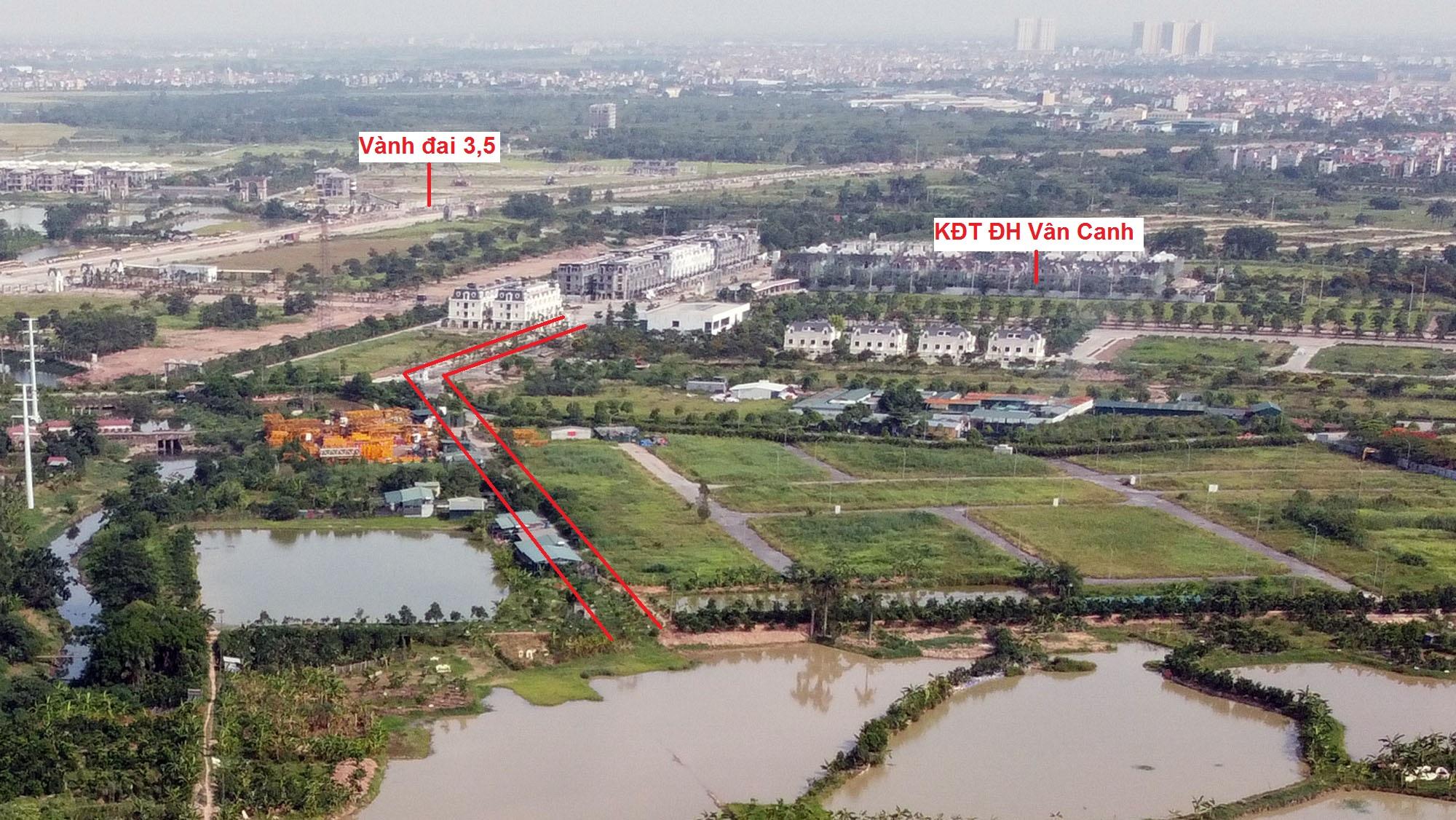 Ba đường sẽ mở theo qui hoạch ở xã Vân Canh, Hoài Đức, Hà Nội - Ảnh 14.