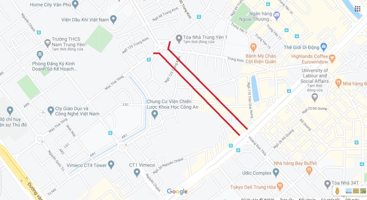 4 đường sẽ mở theo qui hoạch ở quận Cầu Giấy - Ảnh 11.