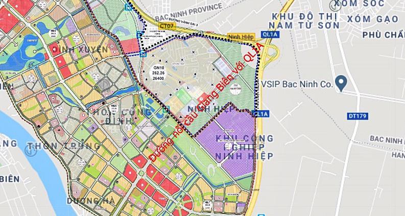 Cầu sẽ mở theo qui hoạch ở Hà Nội: Toành cảnh vị trí làm cầu Giang Biên - Ảnh 8.