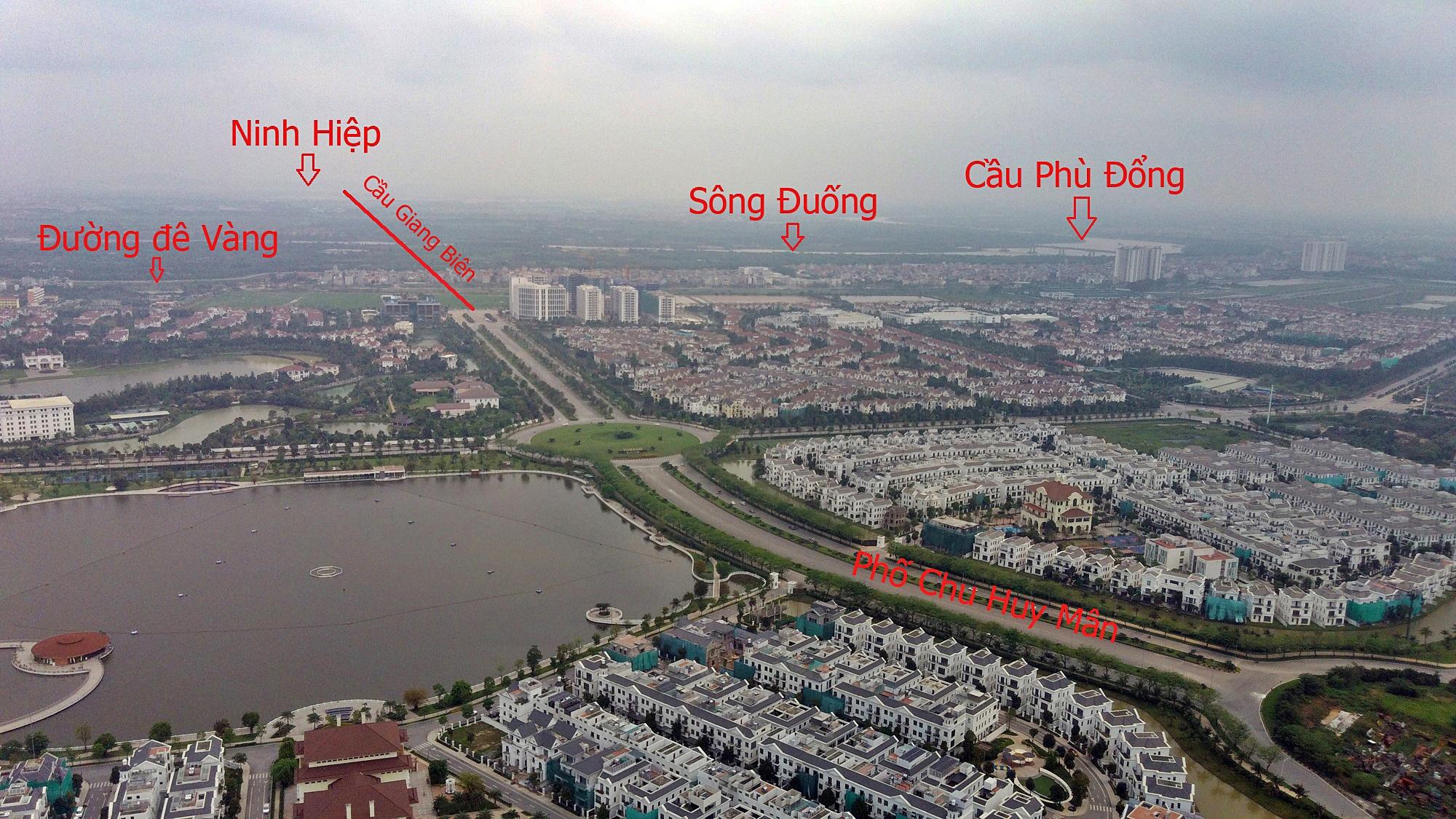 Cầu sẽ mở theo qui hoạch ở Hà Nội: Toành cảnh vị trí làm cầu Giang Biên - Ảnh 2.