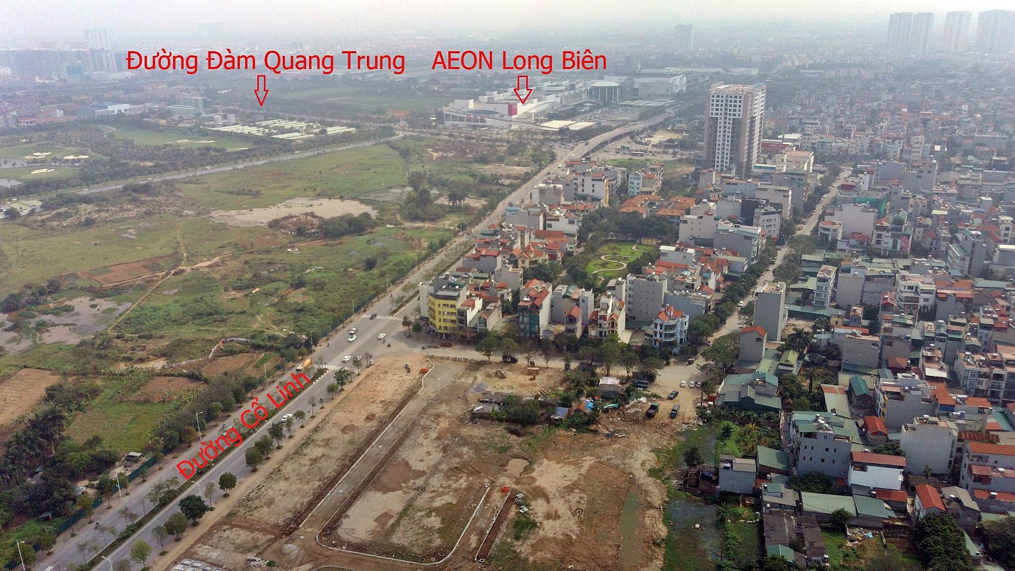 Cầu sẽ mở theo qui hoạch ở Hà Nội: Toành cảnh vị trí làm cầu Giang Biên - Ảnh 12.